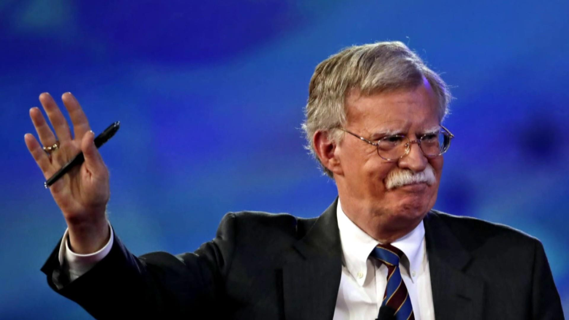 Breaking: Bolton's team believes White House made copies of his book