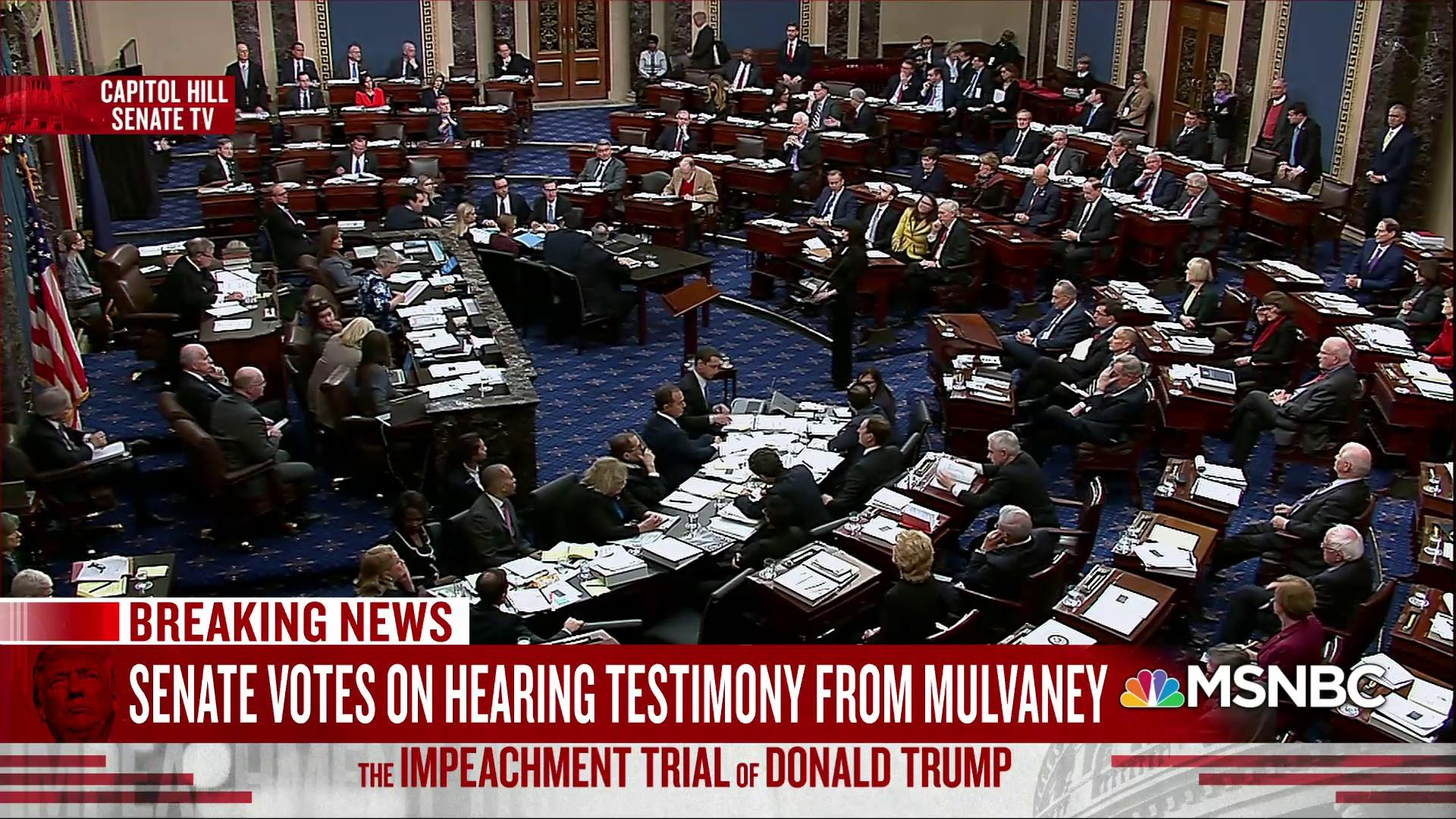 Intentional lying in Senate trial puts lawyers' licenses at risk