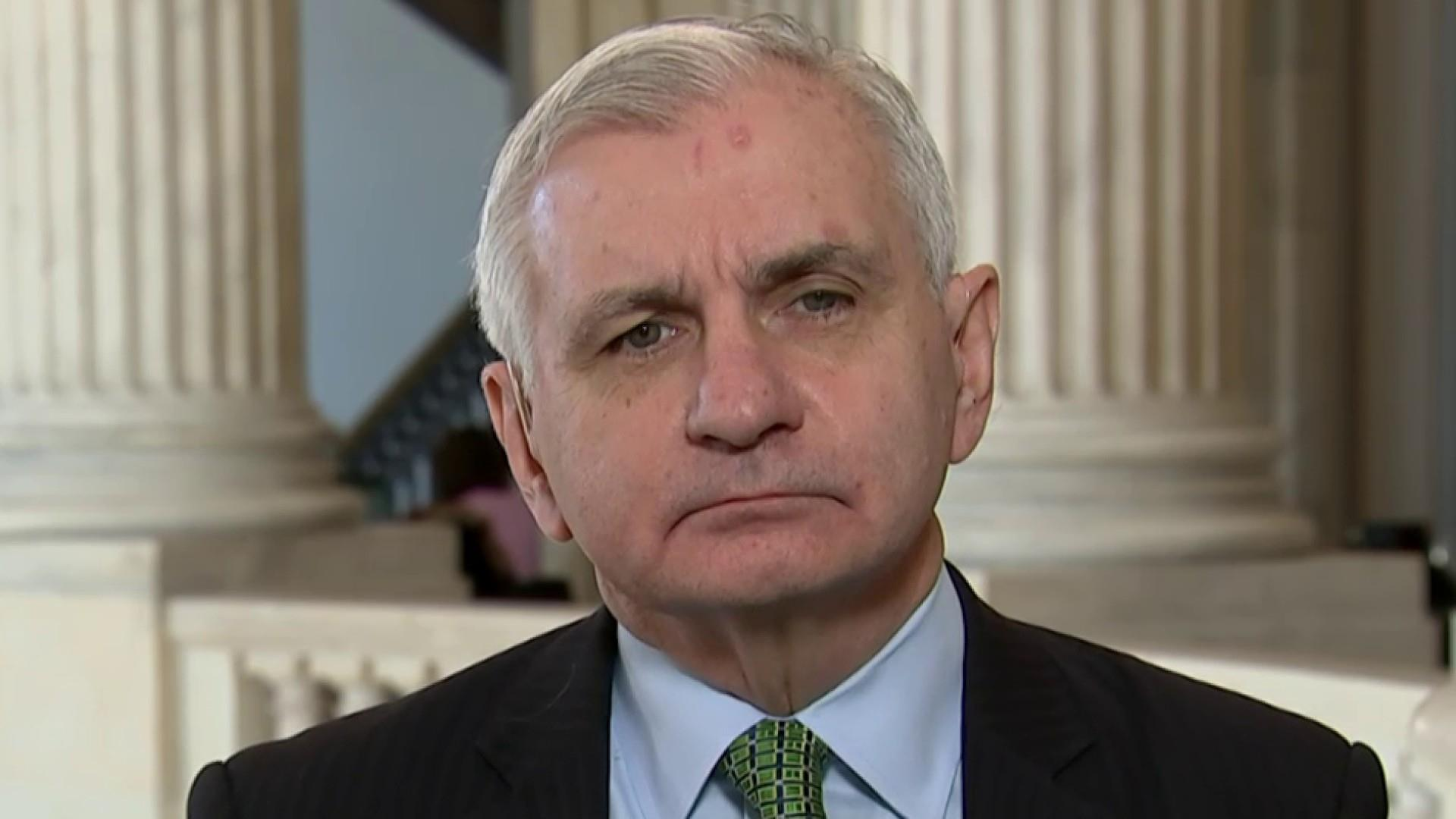 Sen. Reed questions what left there is for Trump to sanction in Iran