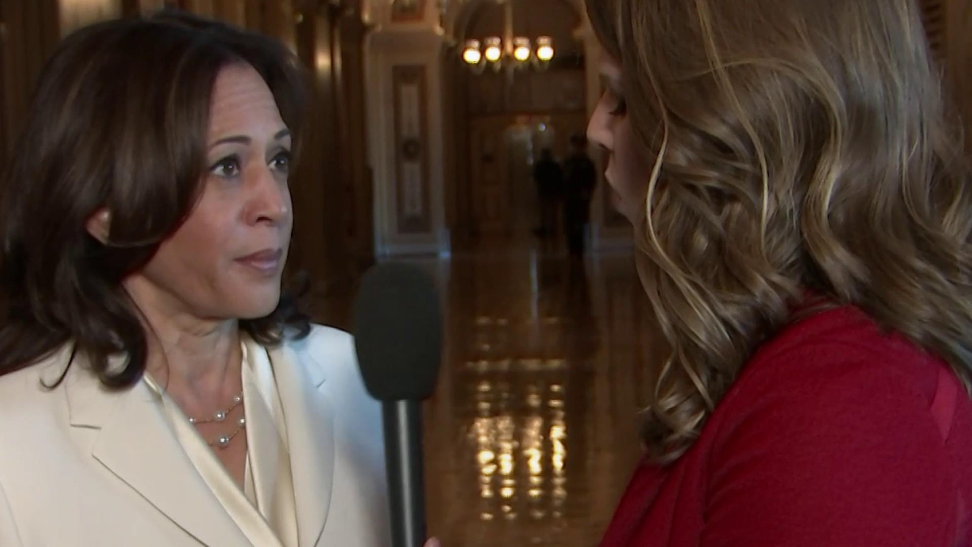 Kamala Harris on impeachment trial: 'This is the time to do justice'