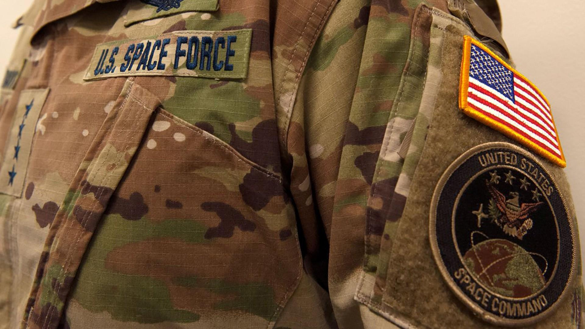 'No trees in space': Twitter dunks on Space Force's camo-print uniforms