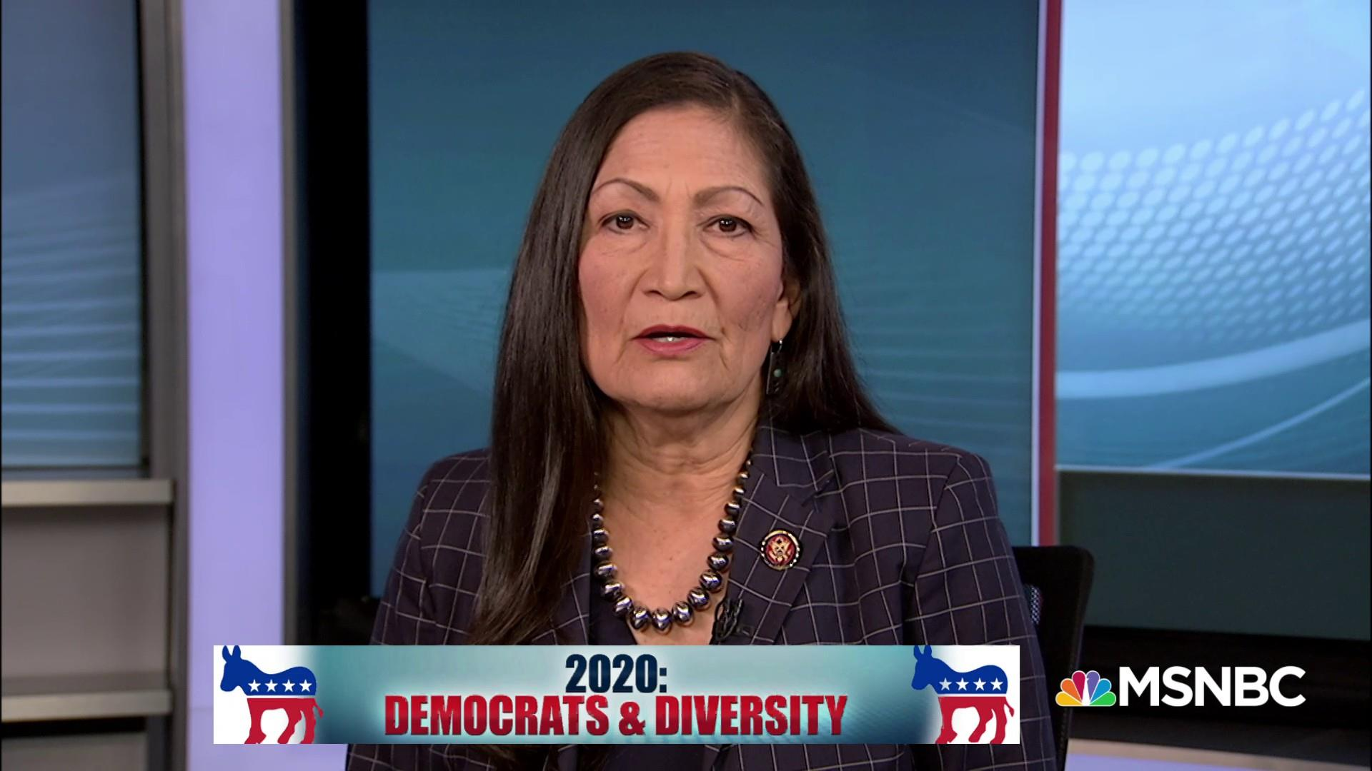 Rep. Deb Haaland: Warren 'fights for people like me'