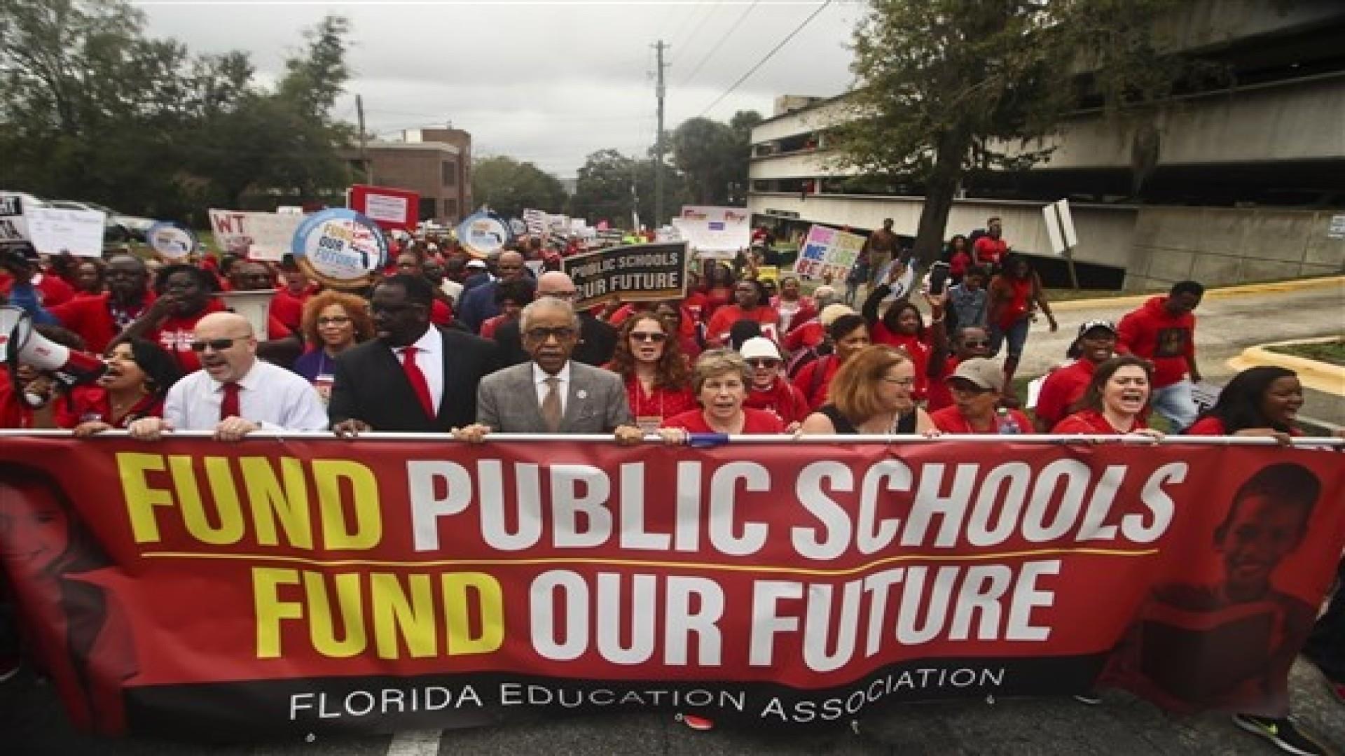 Teachers' pay in Florida