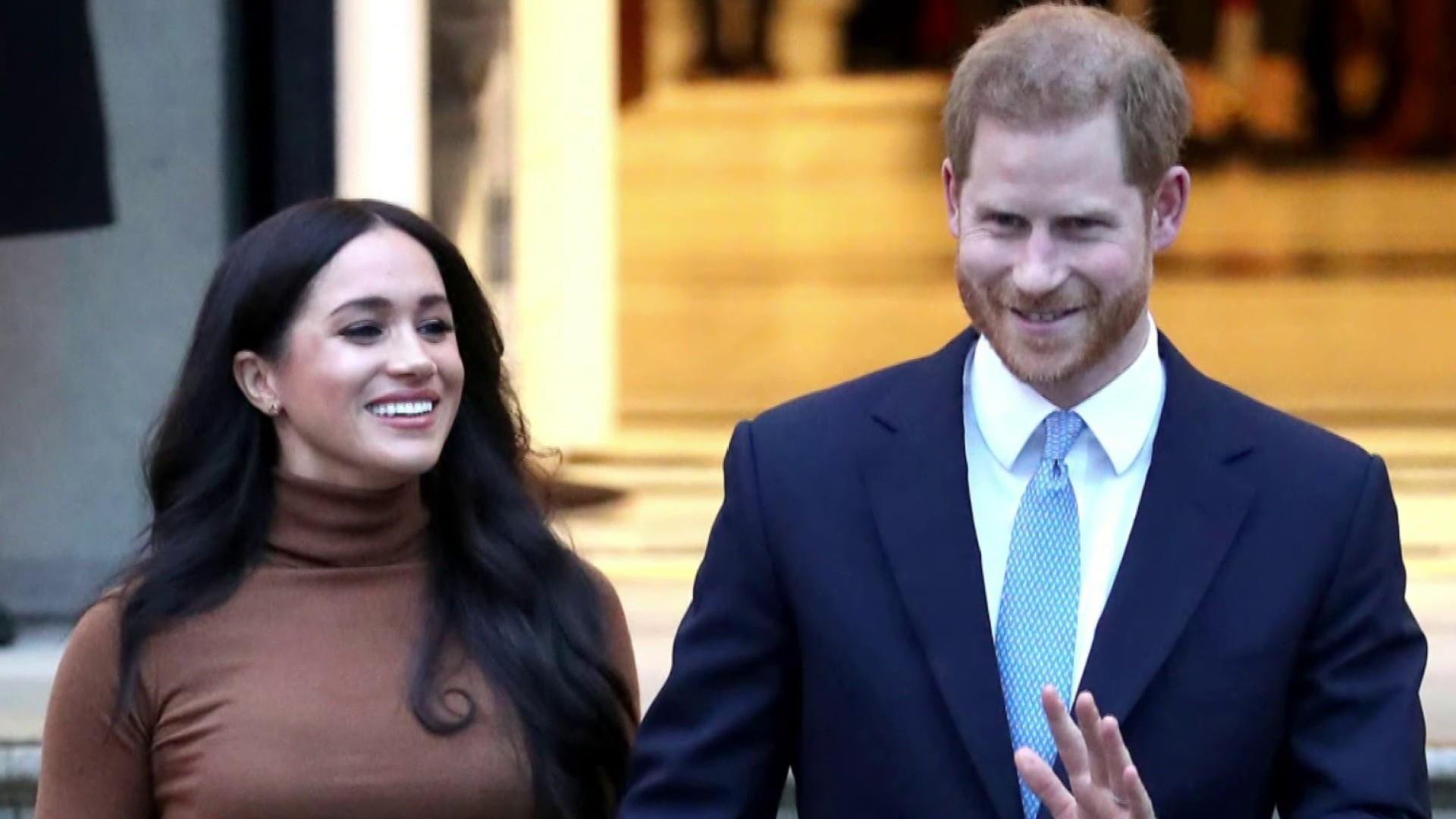 Queen releases statement on Meghan and Harry's future as royals