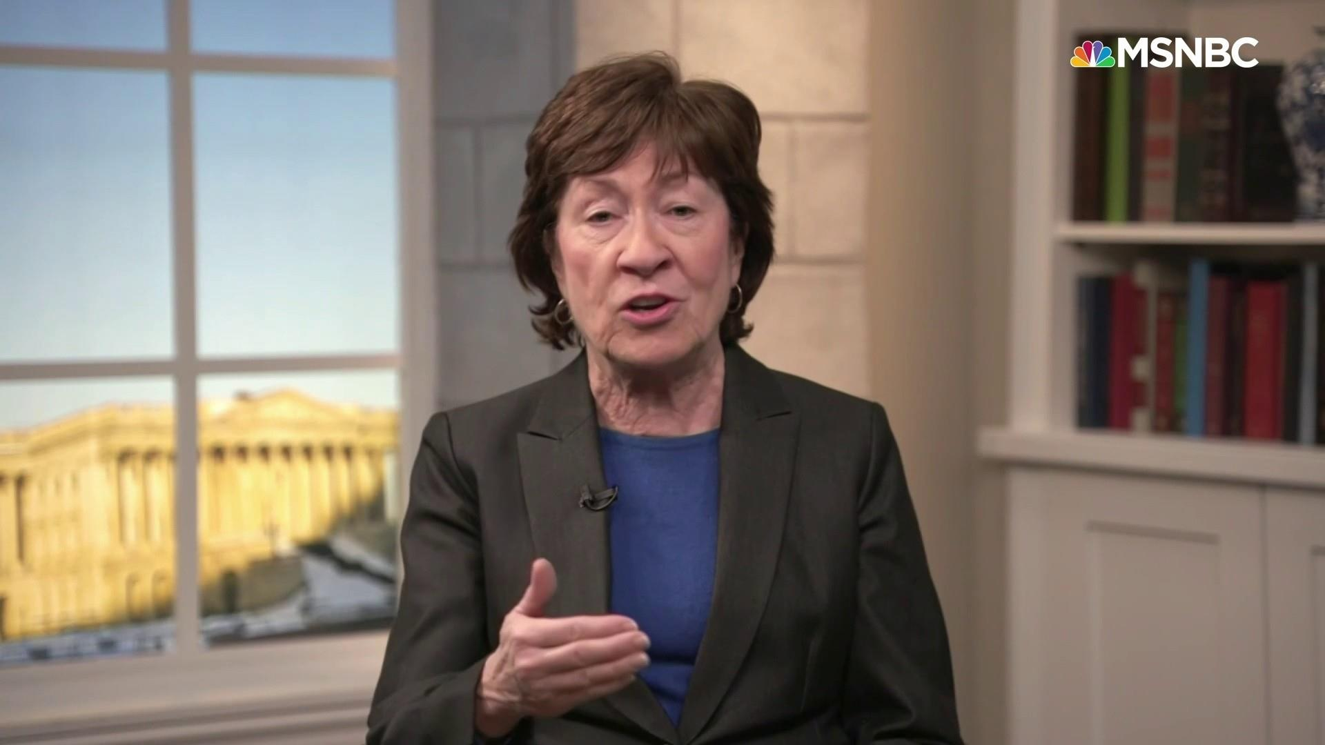Sen. Collins: 'I'm very likely to vote for additional information' in impeachment trial