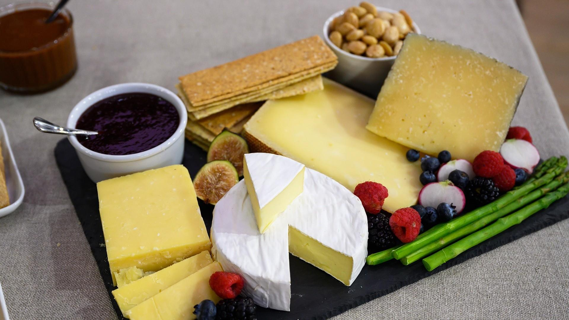 How to make your own cheese boards, from mild to wild