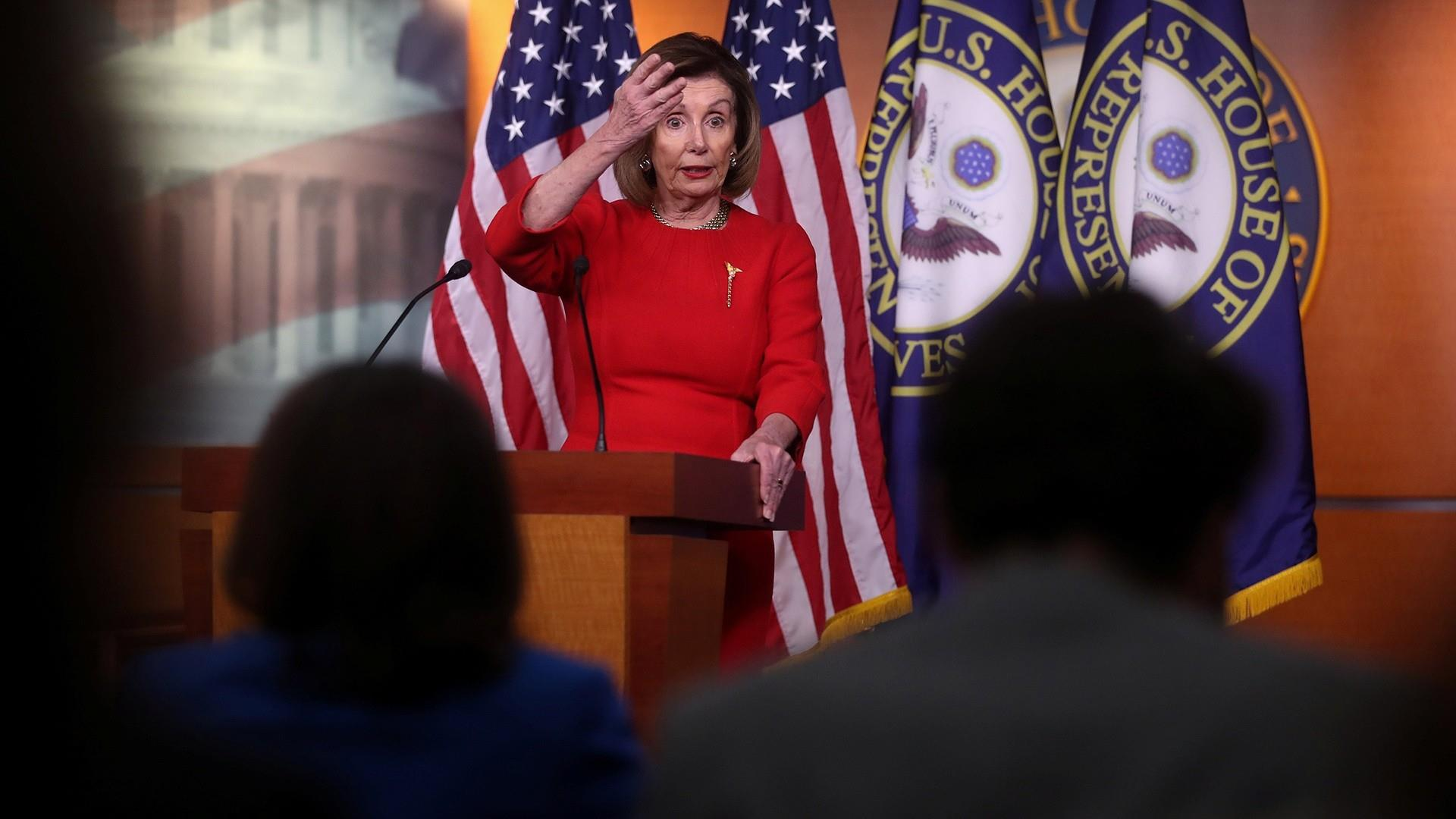 Pelosi says Trump carried out strike on Iranian commander without authorization and she wants details