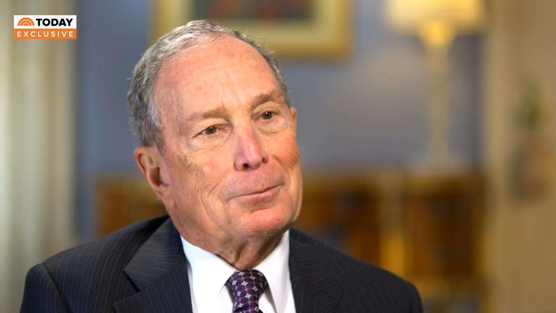 Bloomberg says he'd vote to convict Trump if he were a senator