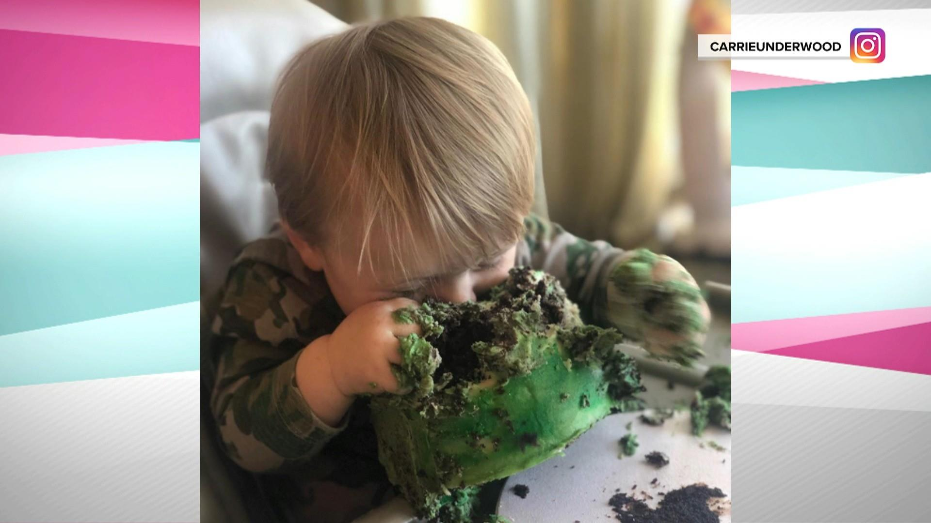 Carrie Underwood celebrates 'miracle baby' Jacob's 1st birthday