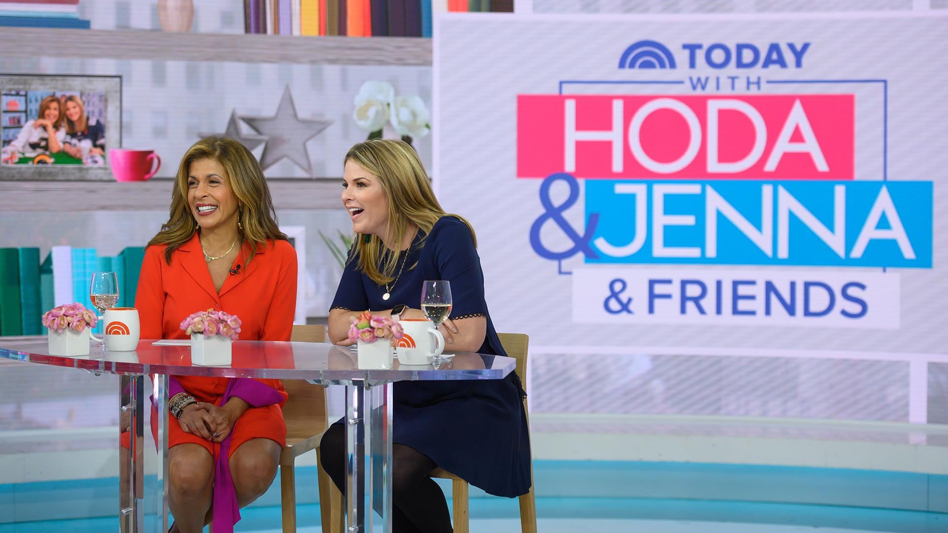 Hoda and Jenna are launching shows with a live audience!