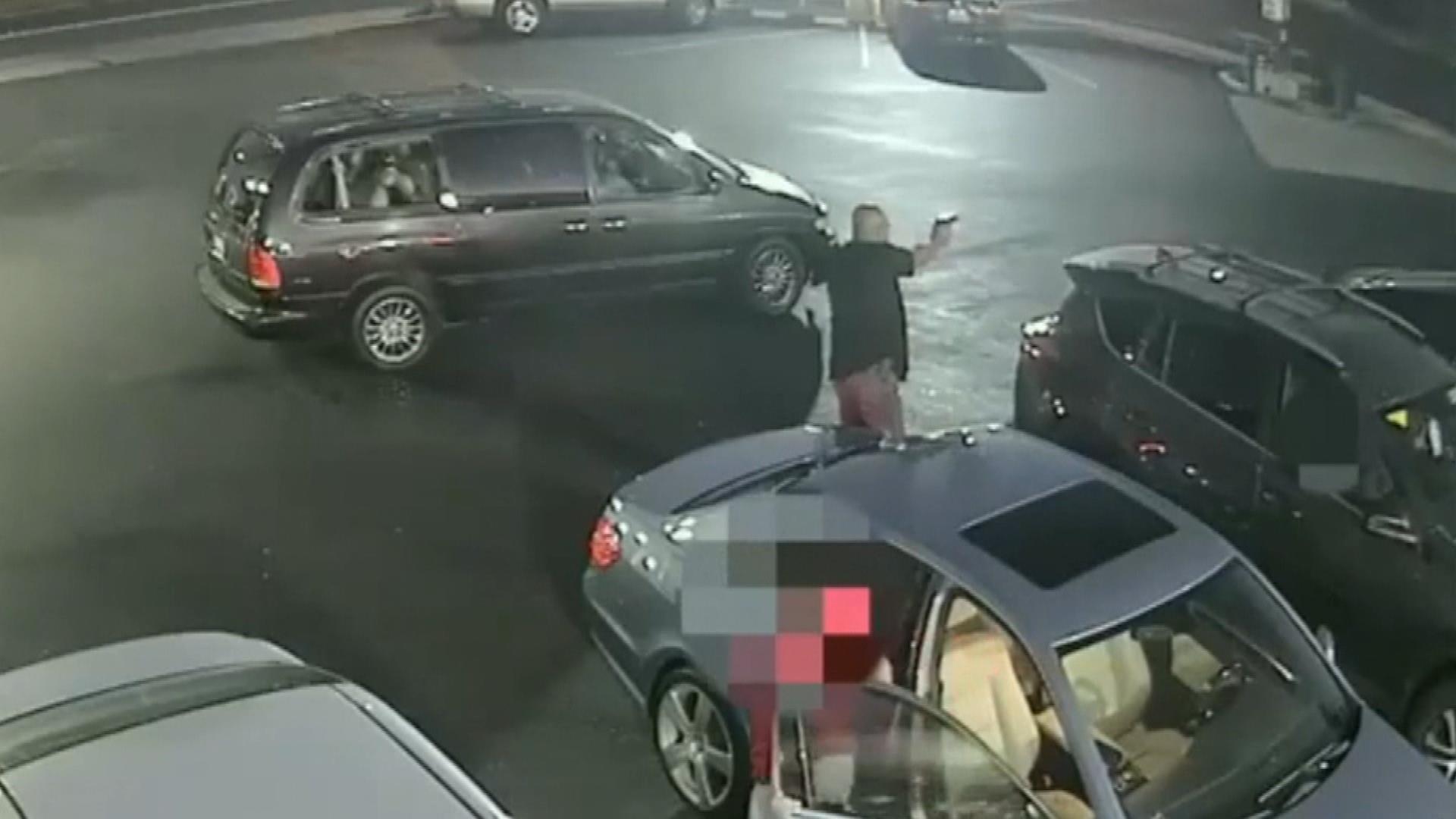 During heated parking lot dispute, off-duty officer fatally shoots man running away