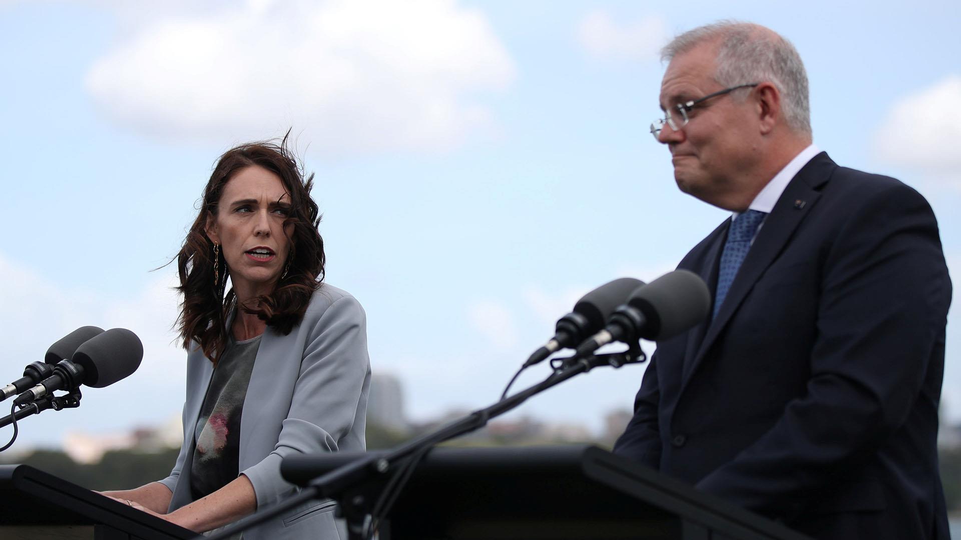 New Zealand PM Jacinda Ardern berates Australia's Scott Morrison about deportations