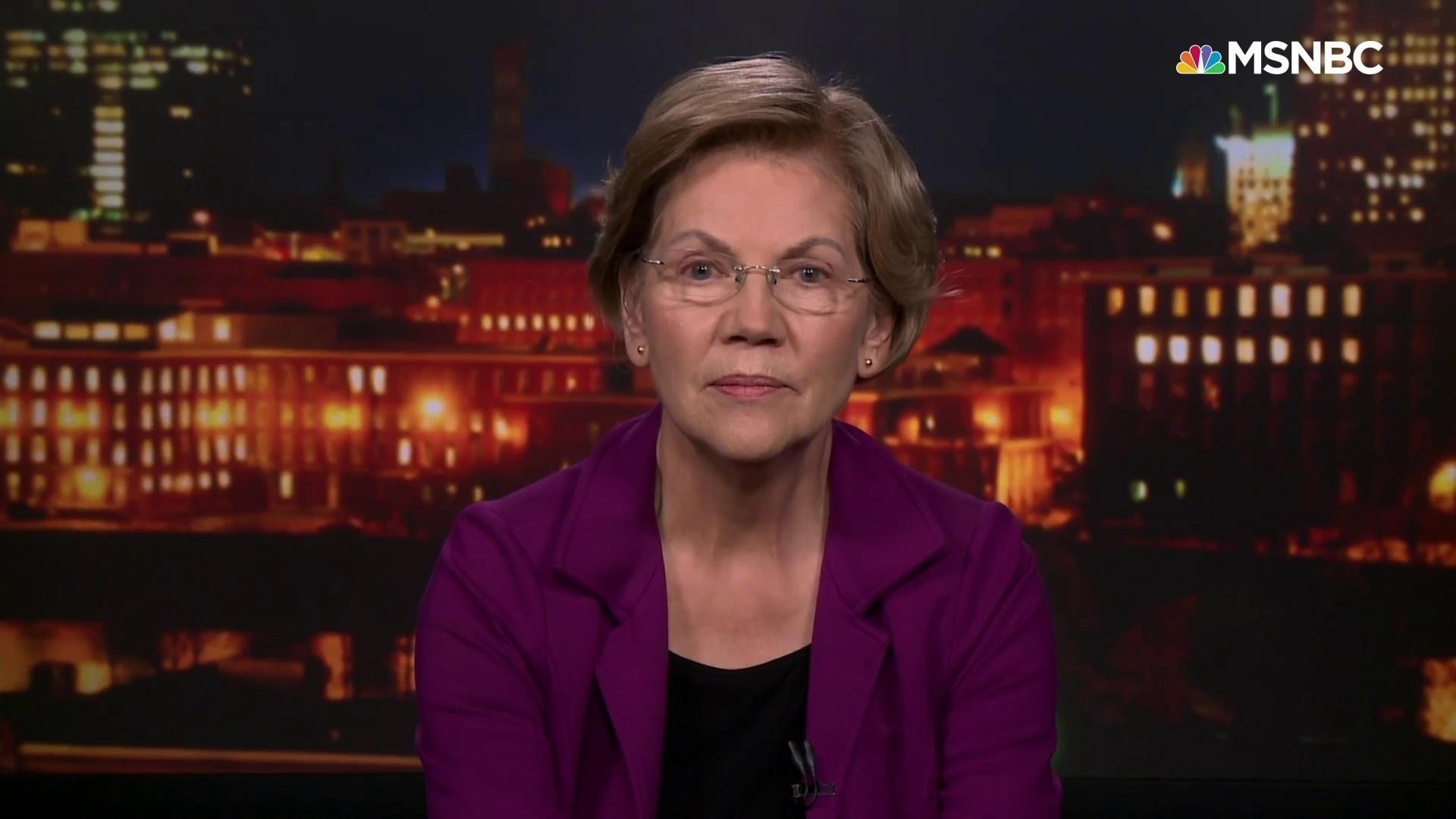 Sen. Warren: 'Mitch McConnell should not be there to block our democracy'
