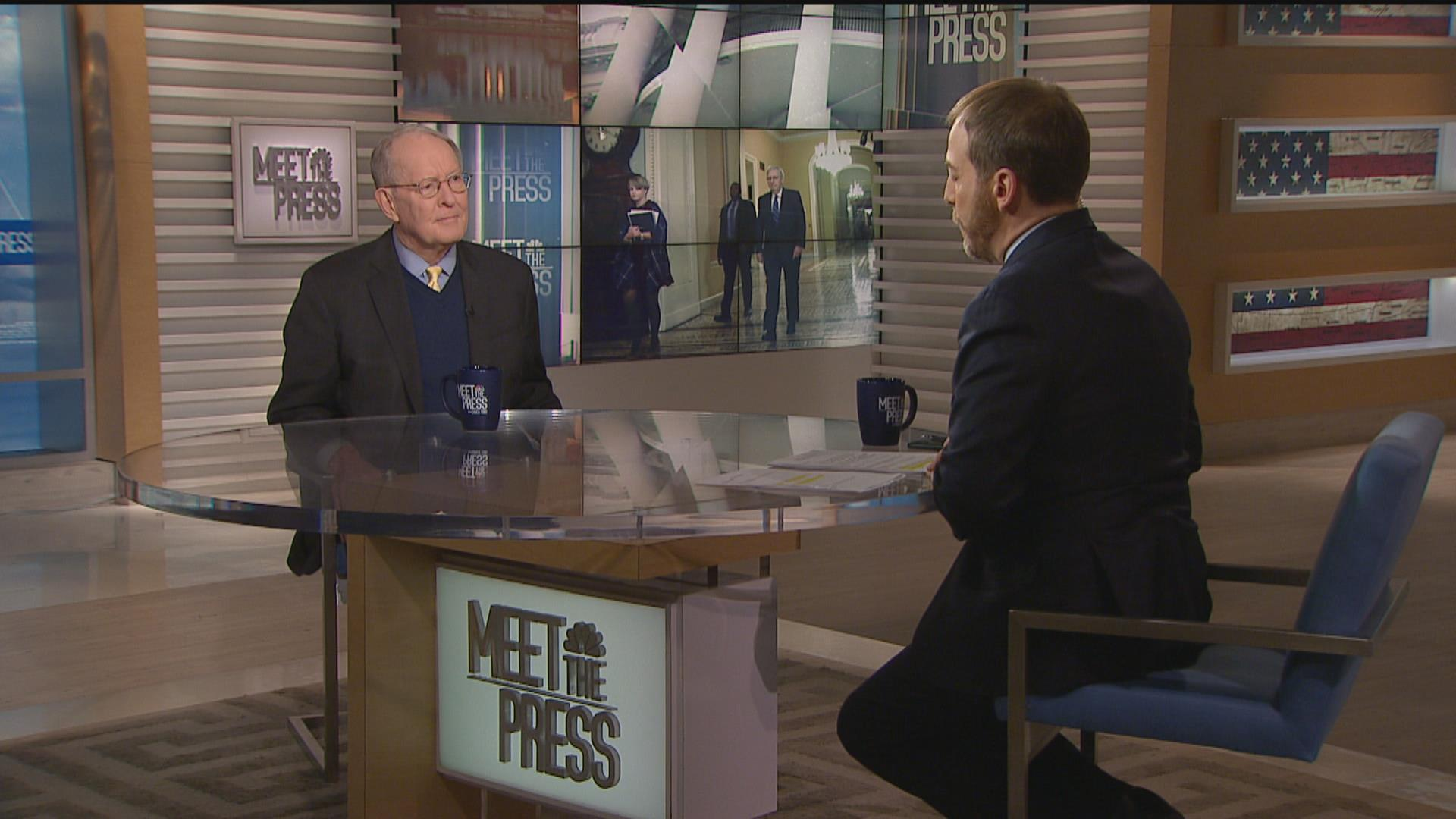 Lamar Alexander says Senate should not 'substitute its judgment' for that of the voters