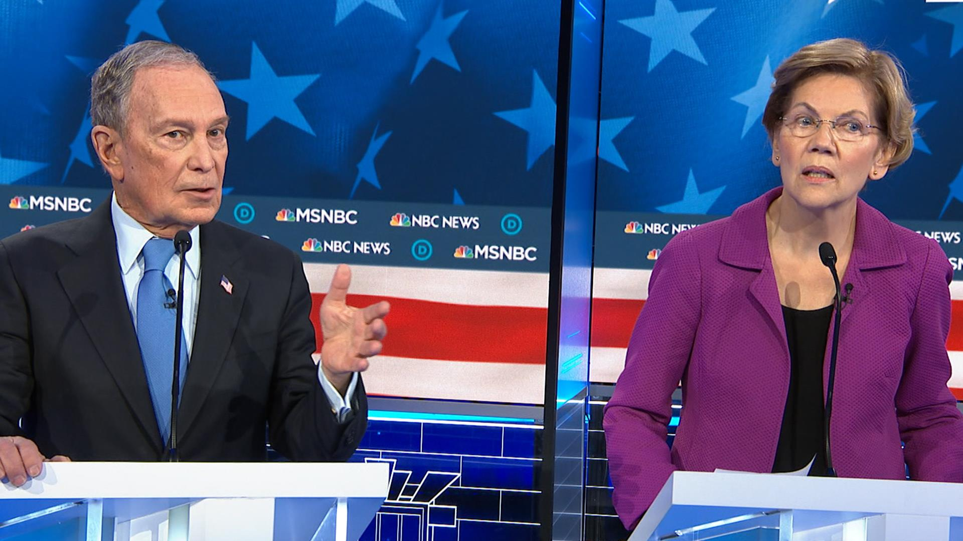 Warren to Bloomberg: Here's how you let women out of NDAs