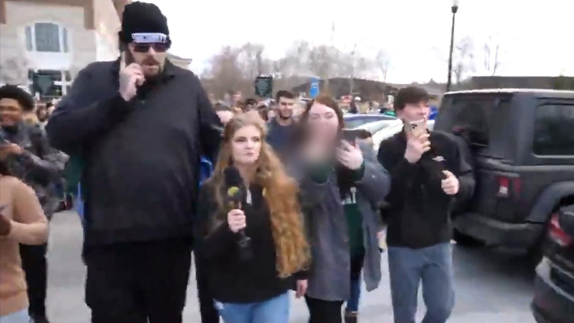 'Gun Girl' Kaitlin Bennett's appearance on Ohio University campus sparks protests