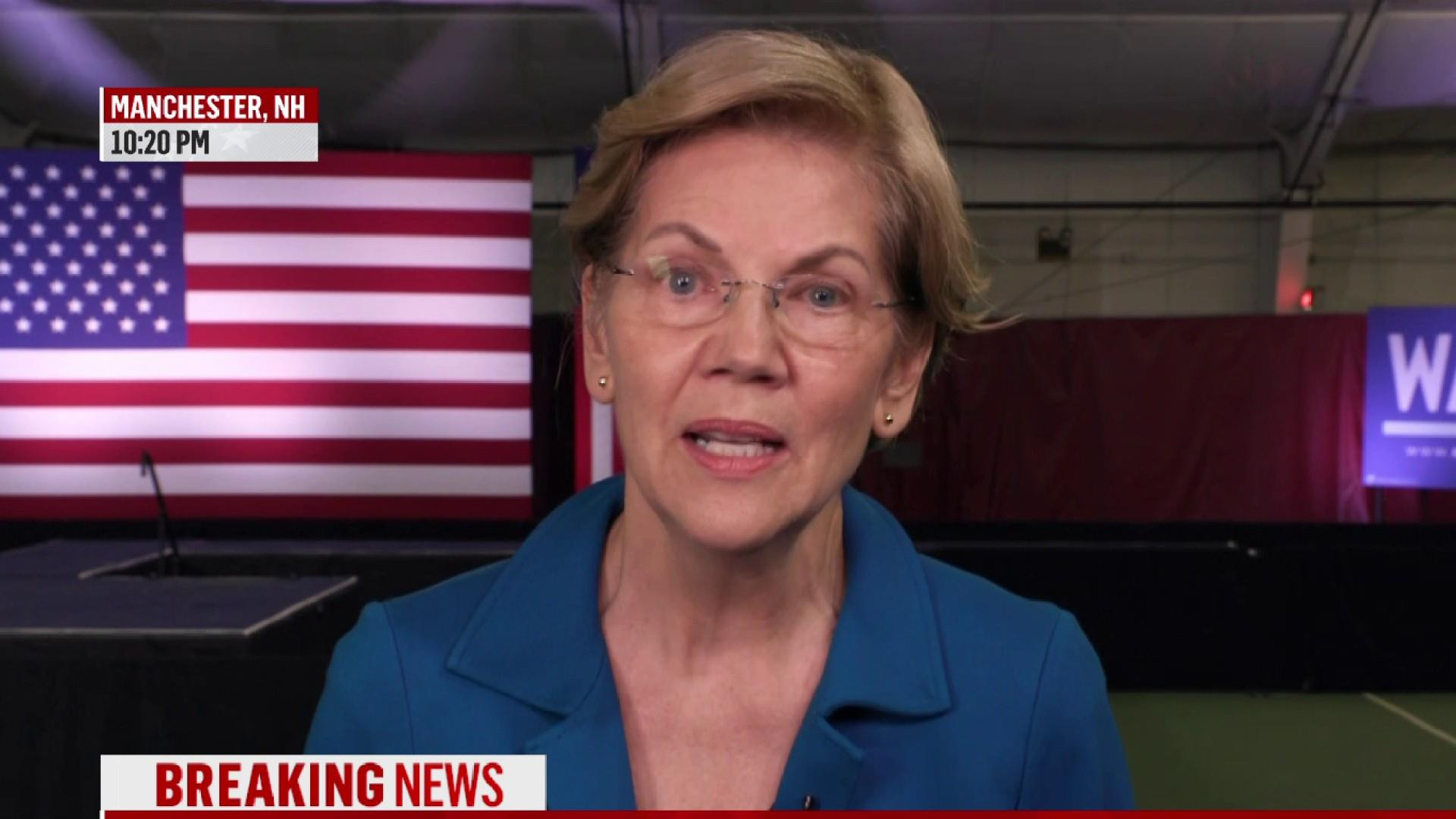 Warren faces pressure to revive fighter persona after 'unity' pitch falls flat