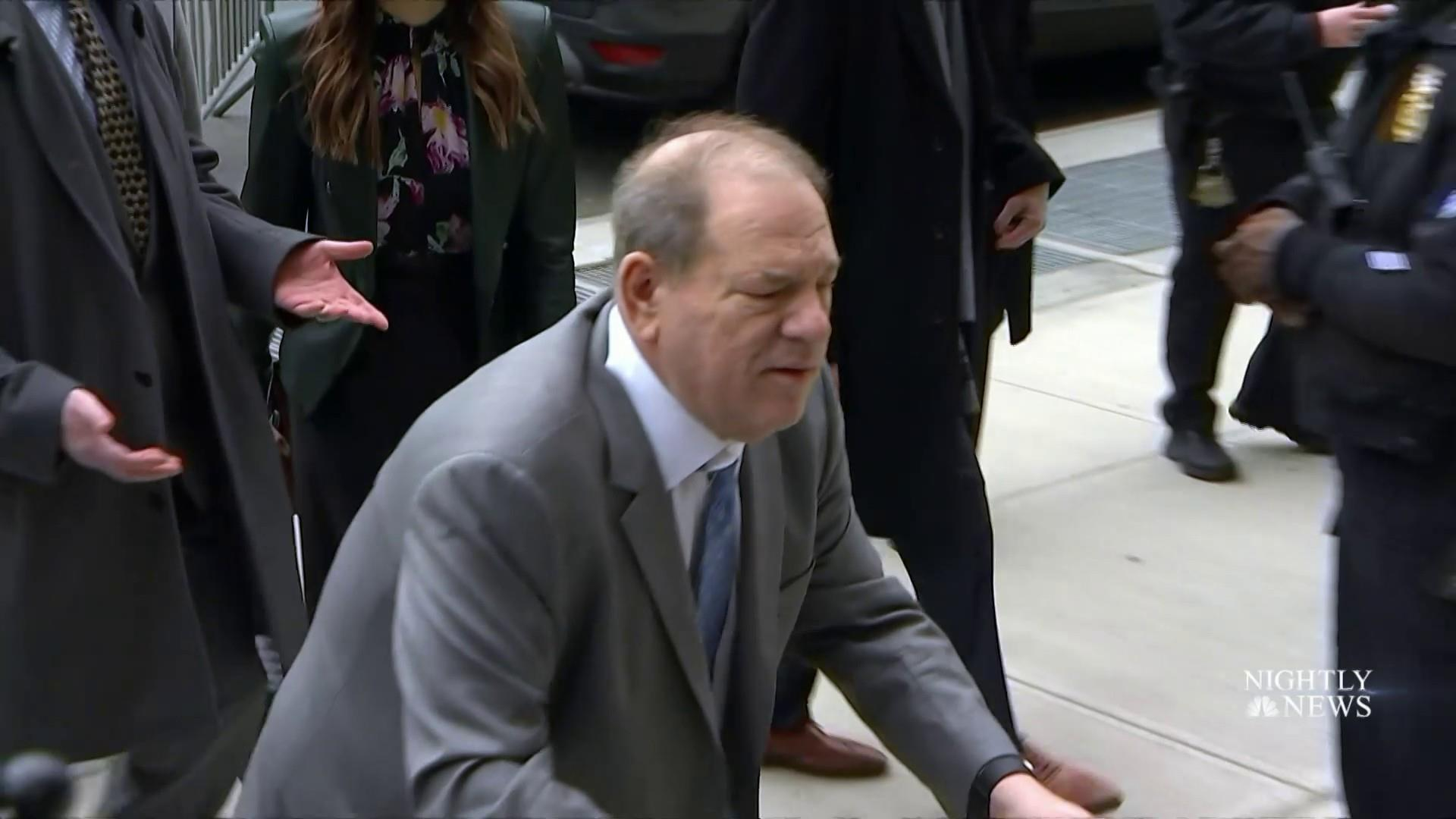 Jury in Harvey Weinstein sexual assault trial ends first day of deliberations without a verdict