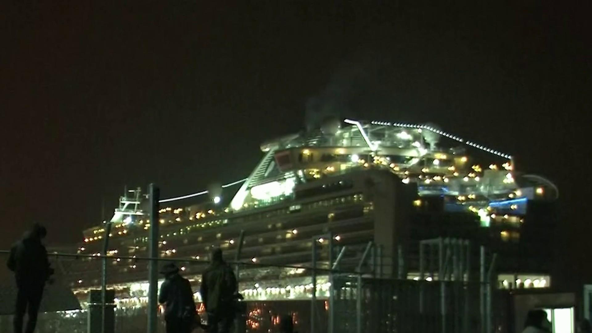 Americans begin evacuation from cruise ship quarantined in Japan