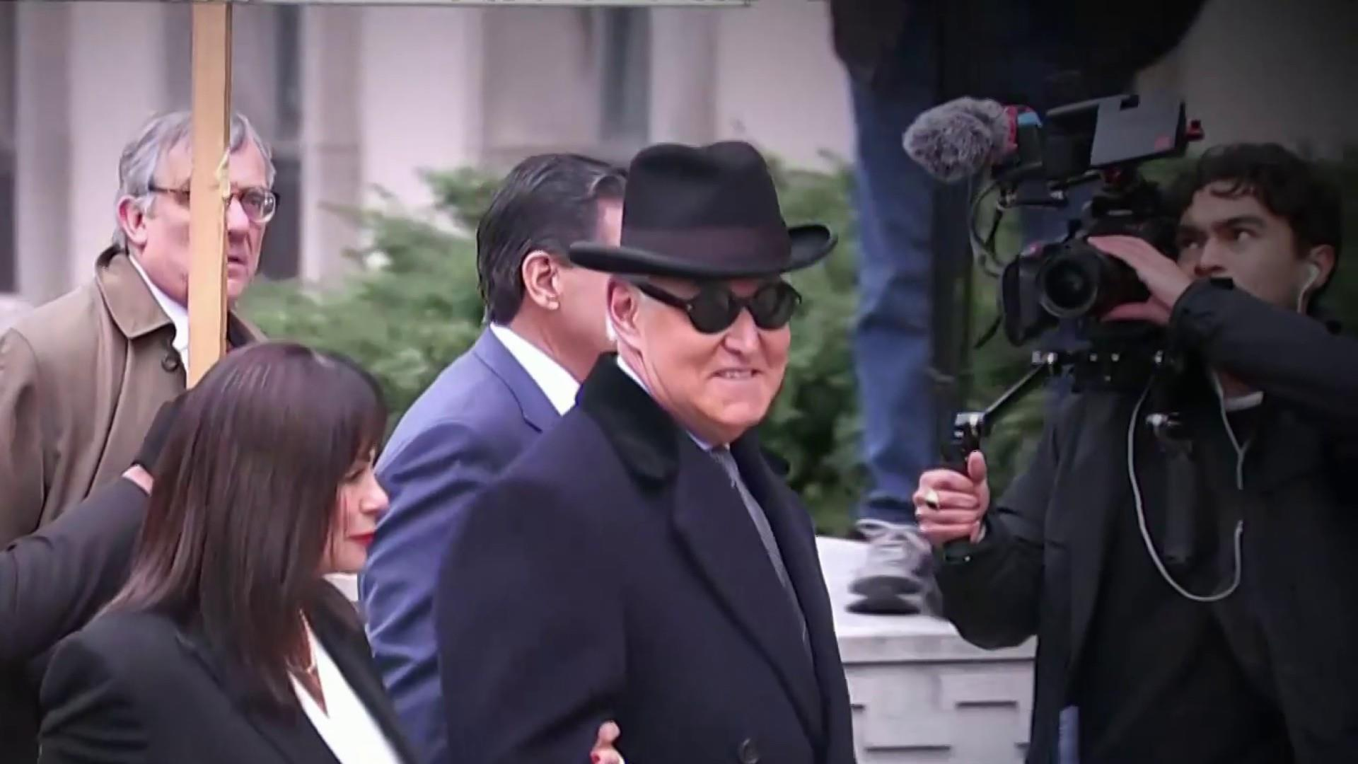 Trump associate Roger Stone sentenced to 3 years, 4 months in prison for lying to Congress