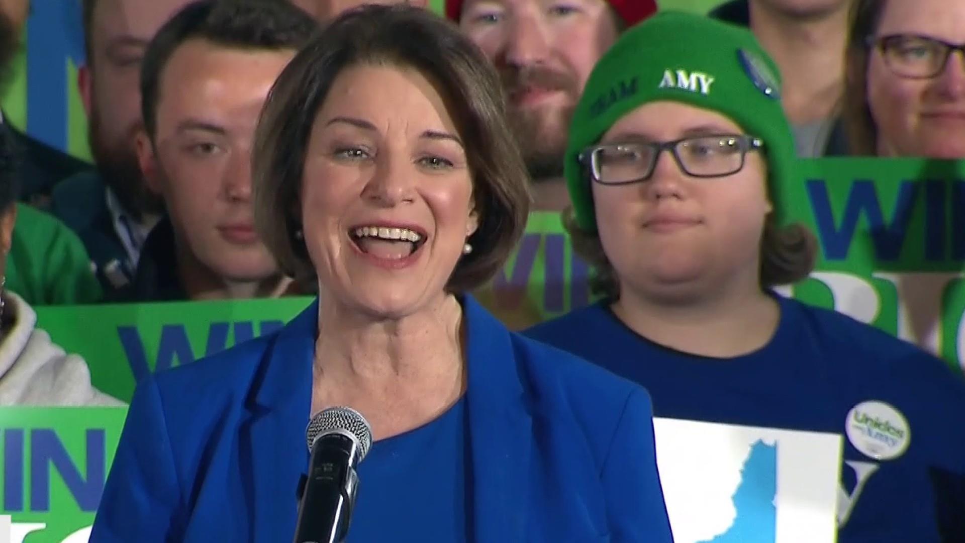 Klobuchar's bronze is gold as Democrats awaken to a scrambled field