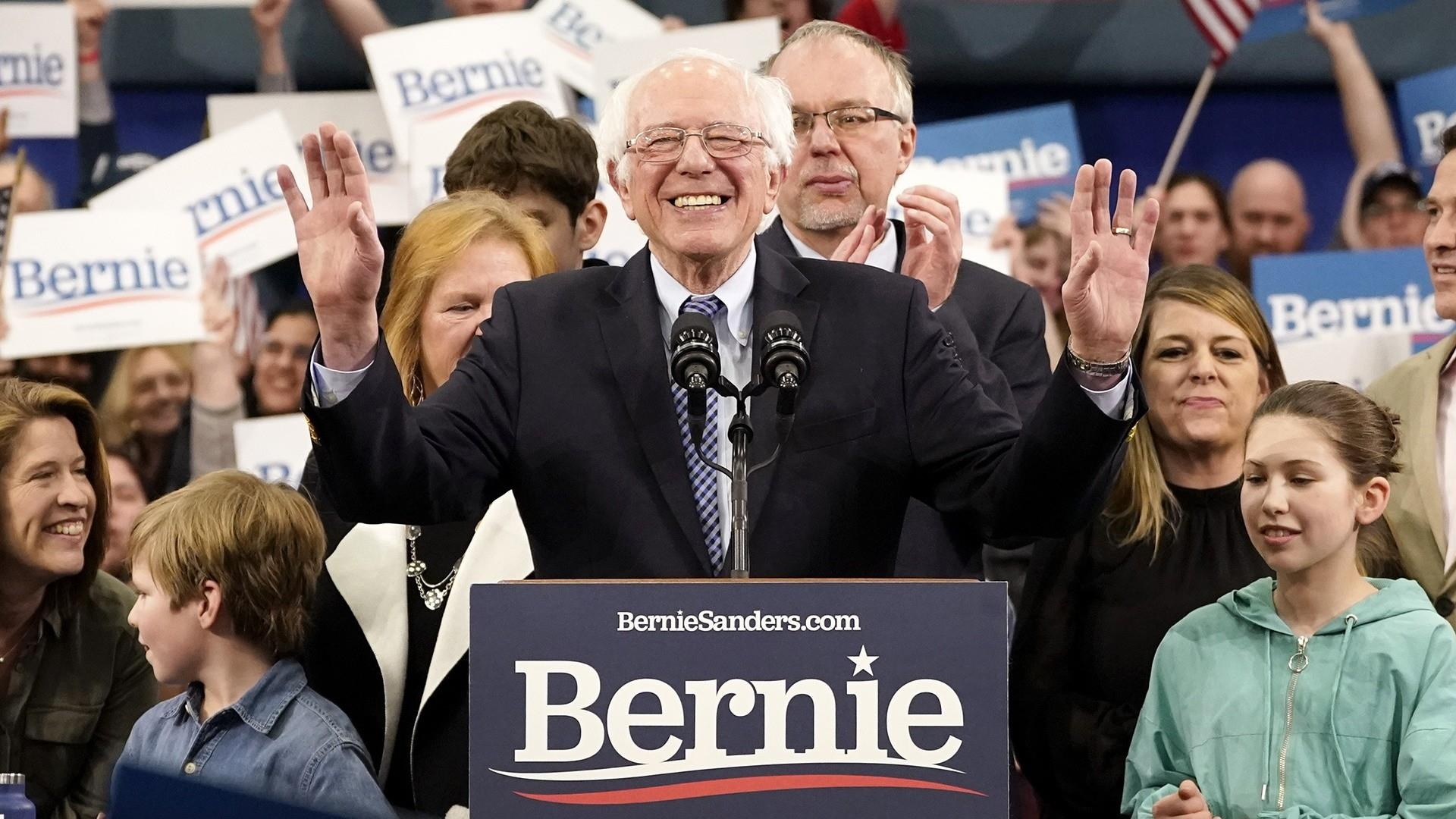 Bernie Sanders is now the front-runner. And moderates may be too divided to stop him.