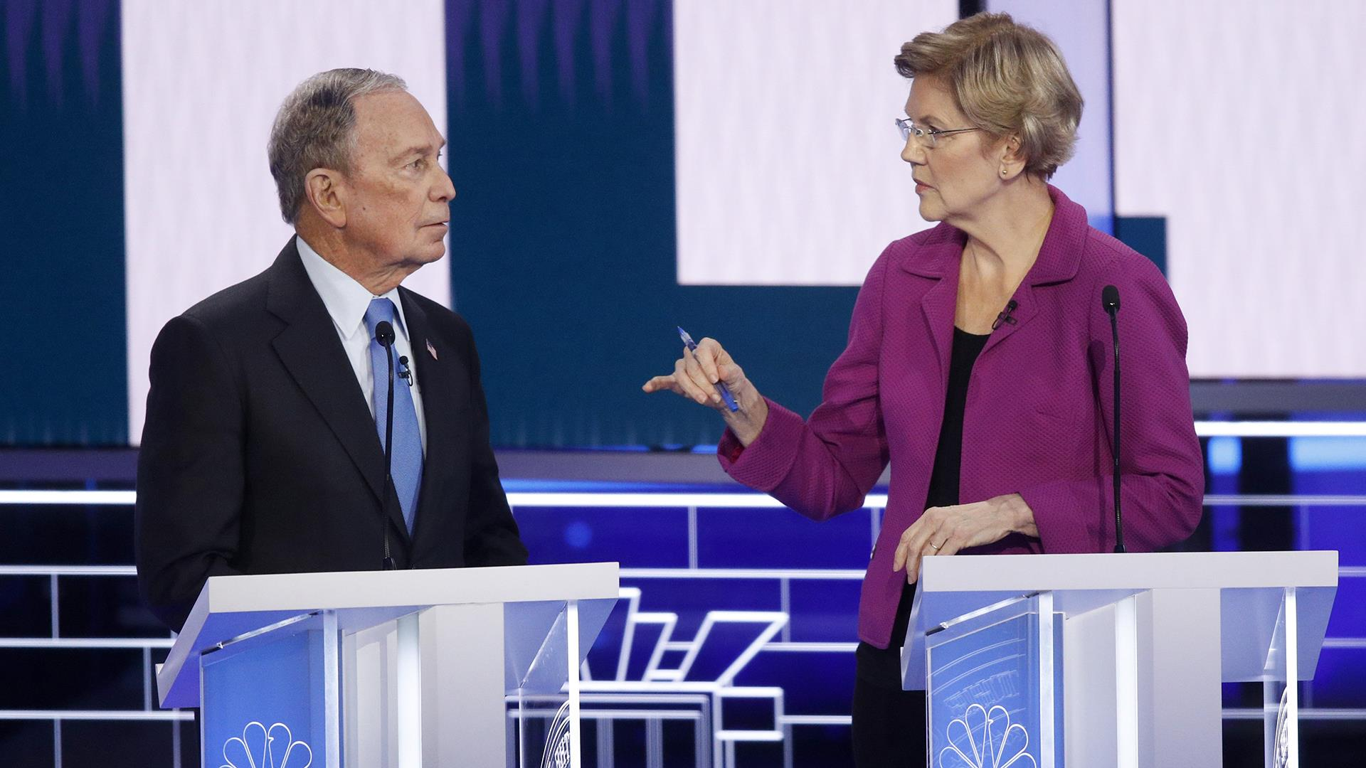 Bloomberg in fray as Democrats trade nonstop attacks at most contentious debate yet