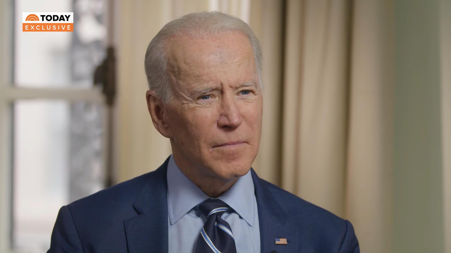 Joe Biden on Sanders: Americans 'aren't looking for revolution'