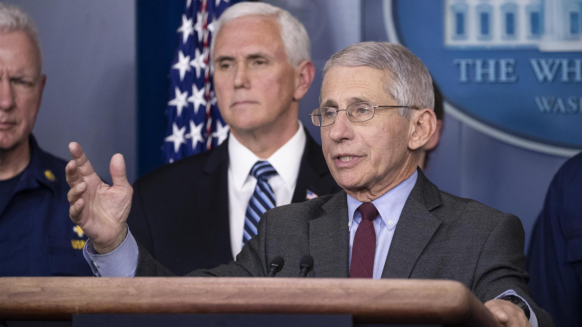 Fauci predicts Americans will likely need to stay home for at least several more weeks