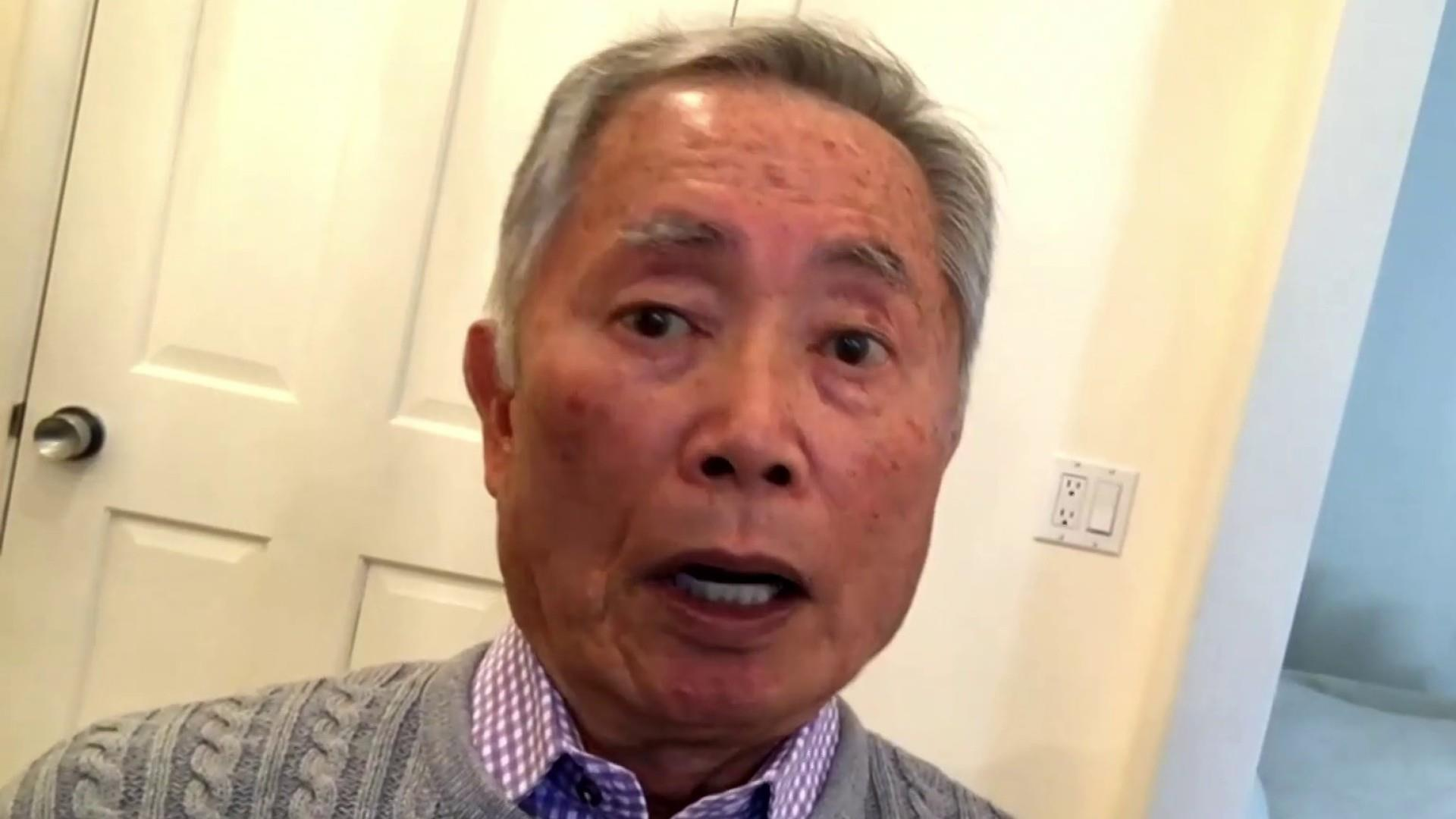 George Takei said he's 'chilled' by Trump's use of phrase 'Chinese virus'