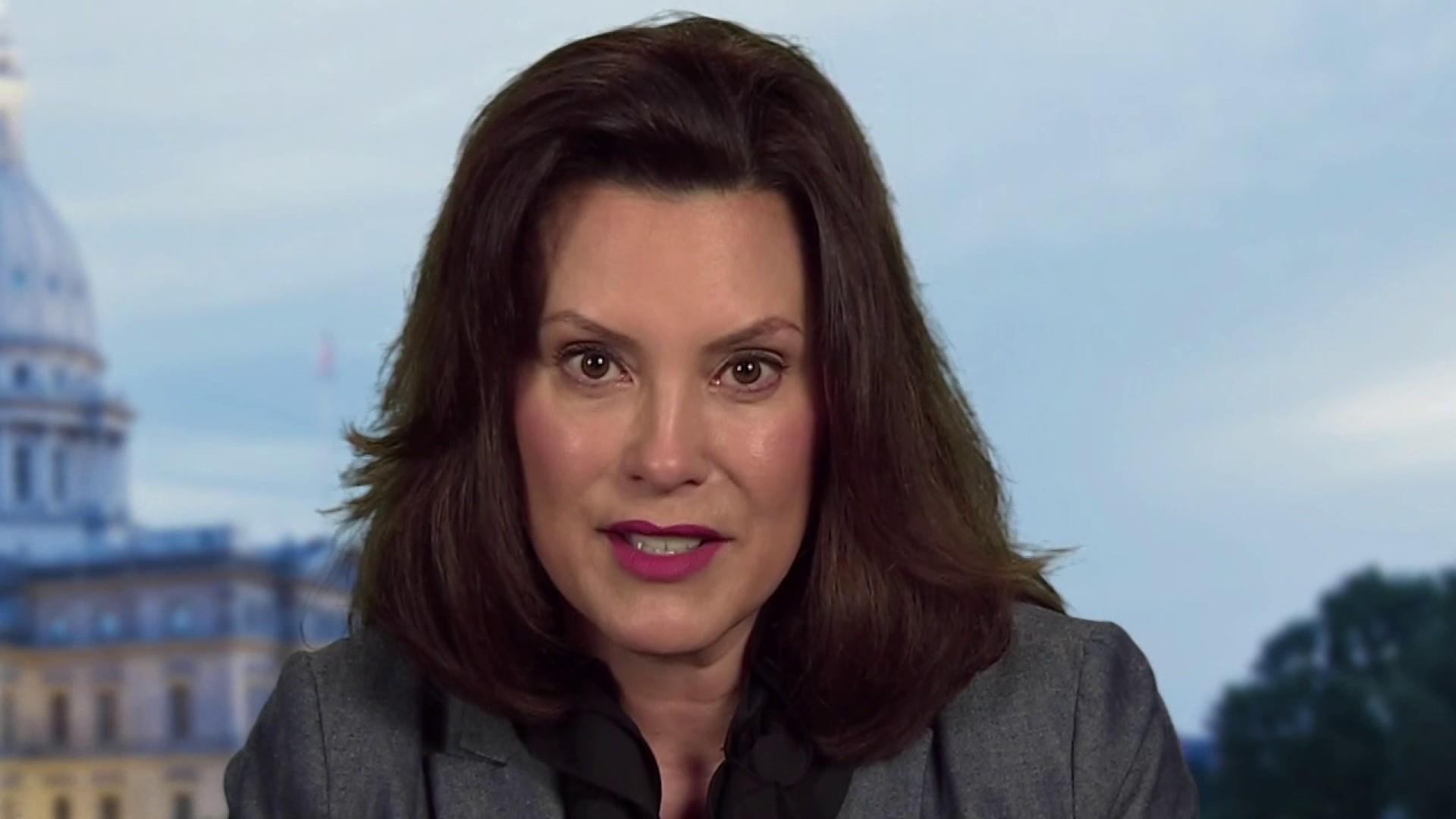 Michigan Governor Gretchen Whitmer On Coronavirus Precautions