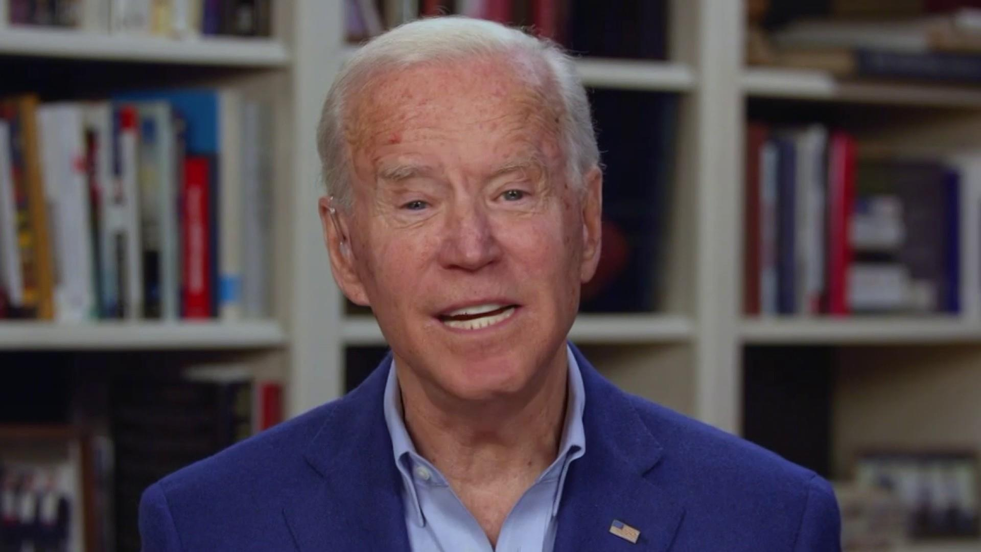 The coronavirus crisis hasn't changed Joe Biden's mind on 'Medicare for All'