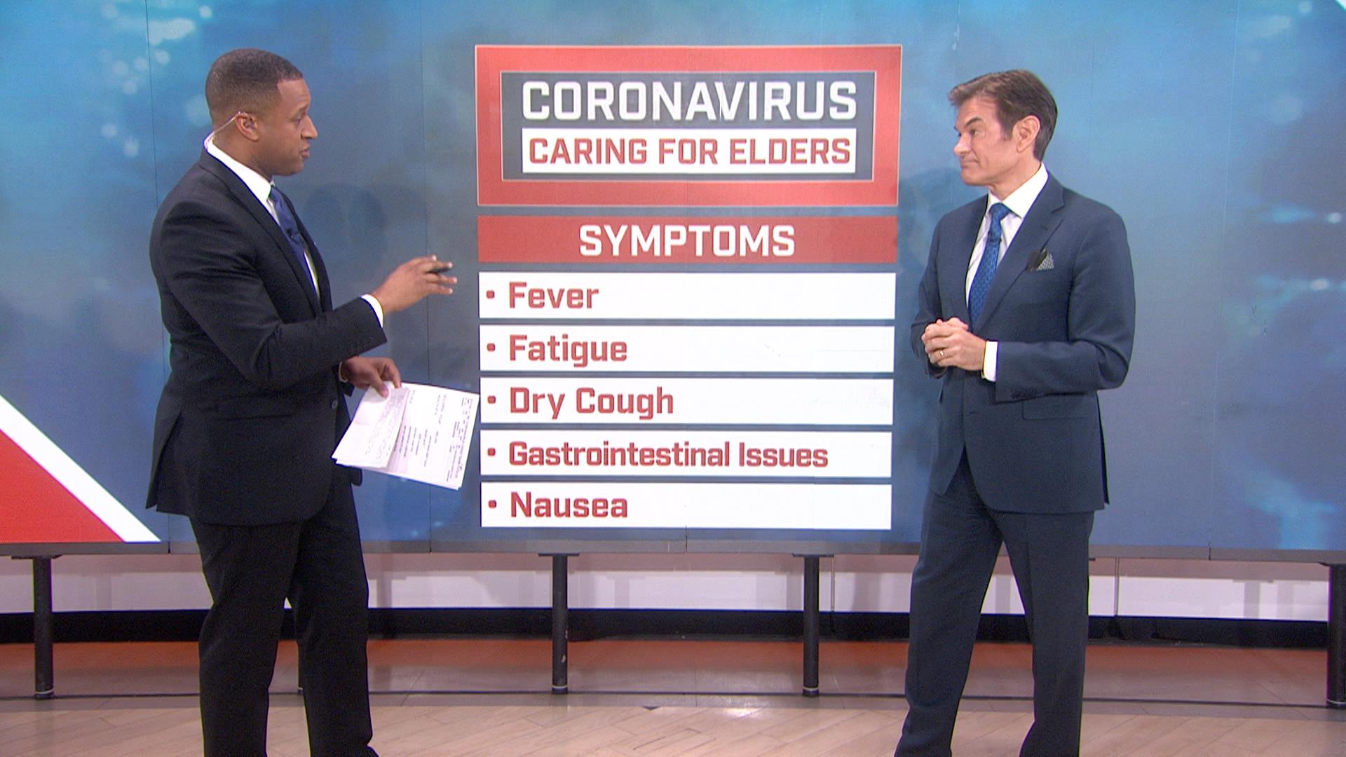Dr Oz Explains How To Protect Older Family Members From Coronavirus