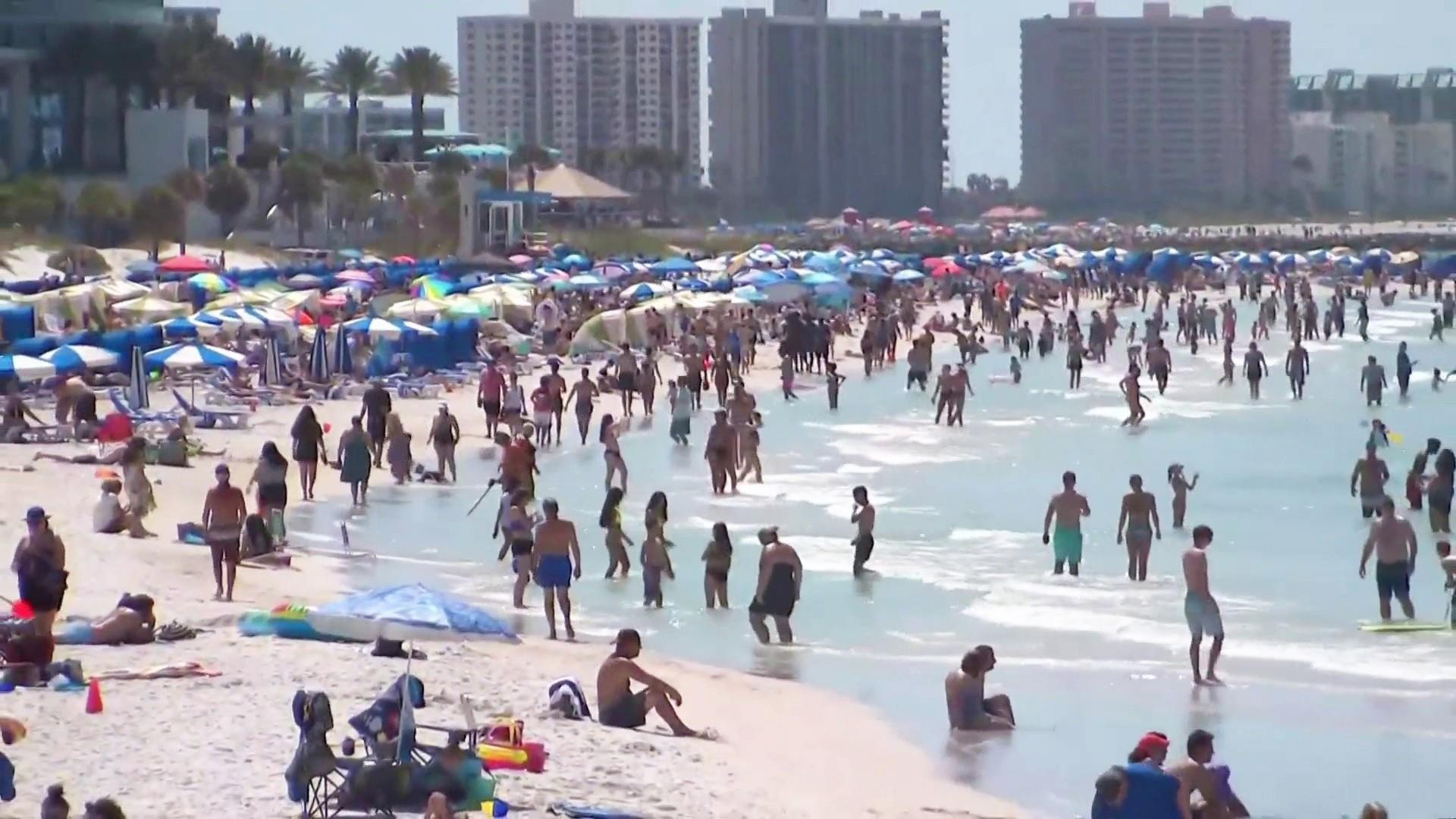 As Florida Coronavirus Cases Surge Spring Breakers Express Regret