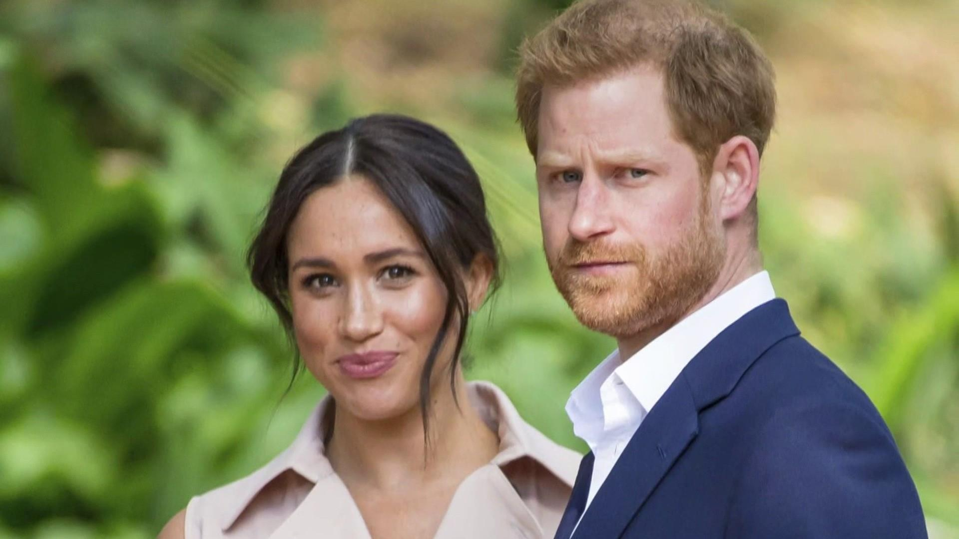 Harry and Meghan bid farewell on last day as British royals