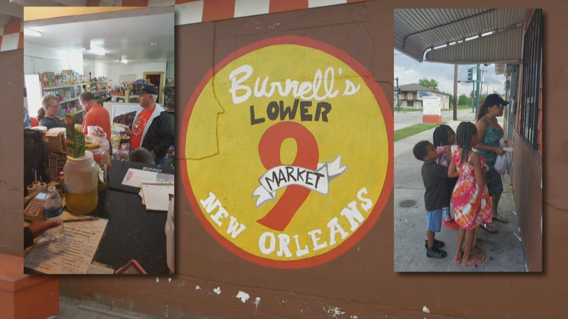 In New Orleans' Lower 9th Ward, grocery store owner keeps doors open