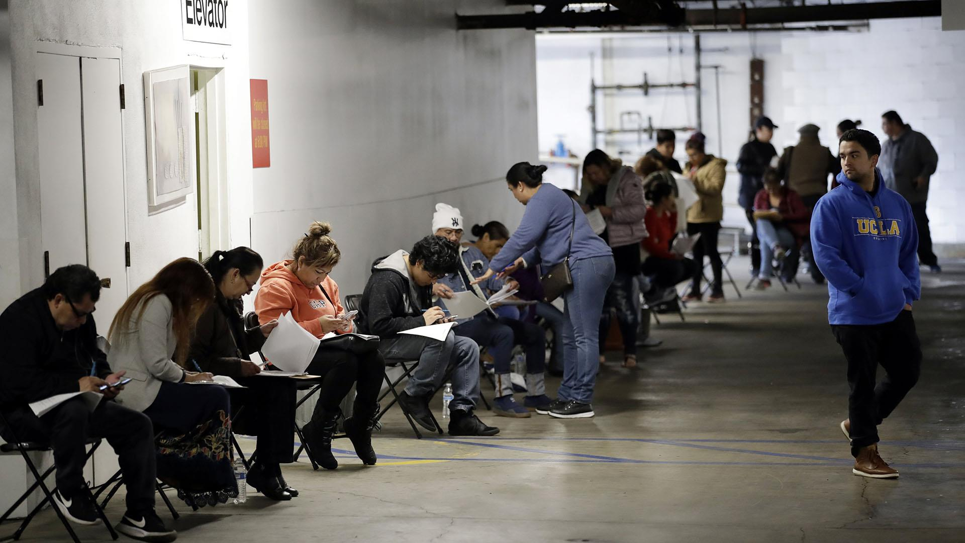 A record 6.6 million Americans filed for unemployment last week