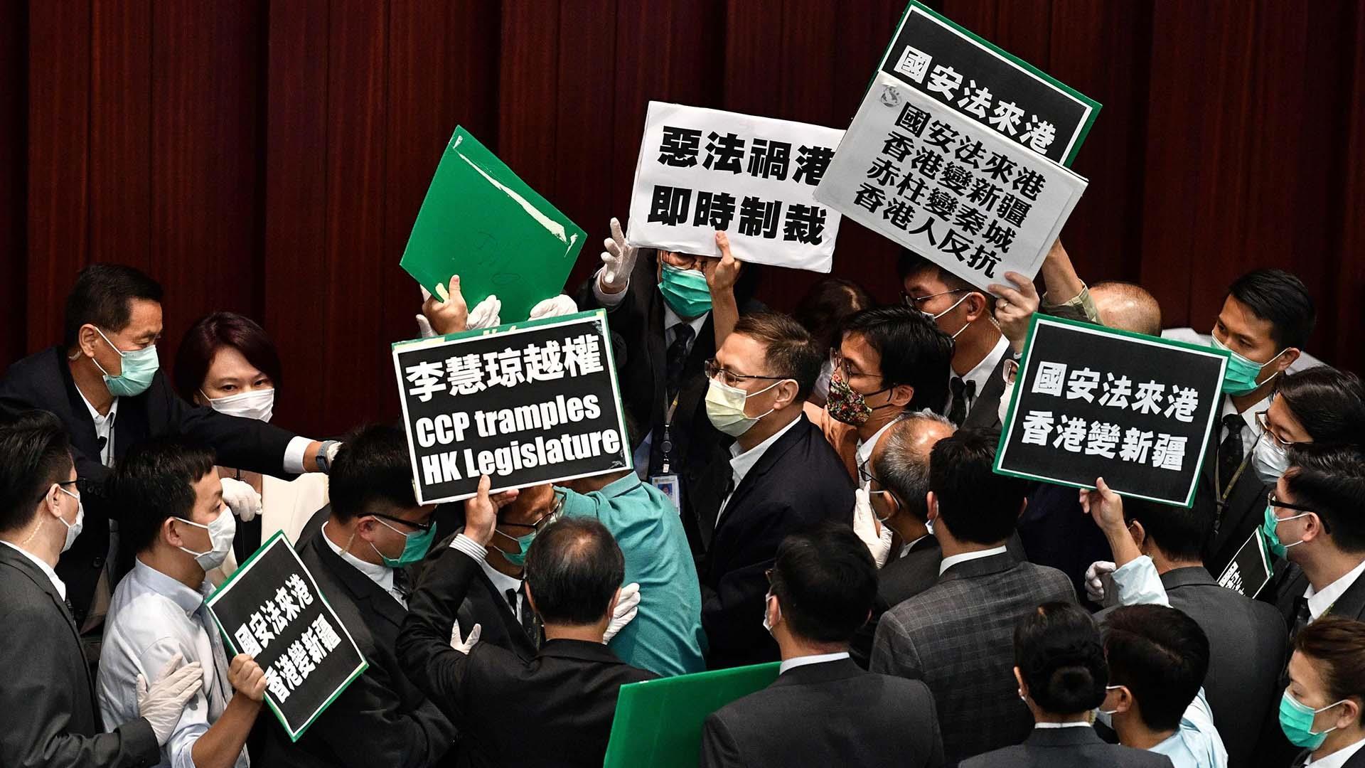 Hong Kong lawmaker mourns 'end of homeland' as China mulls anti ...