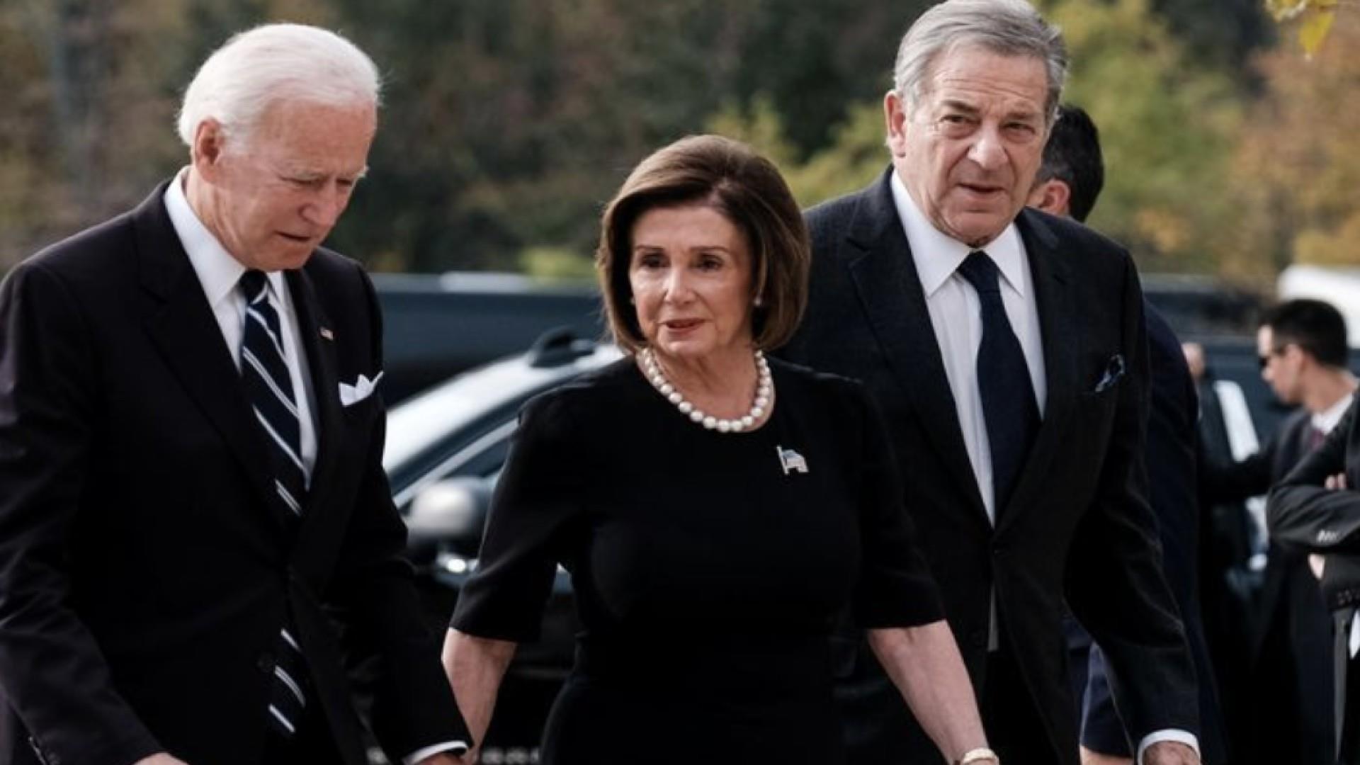 I believe him': Speaker Pelosi stands by Joe Biden