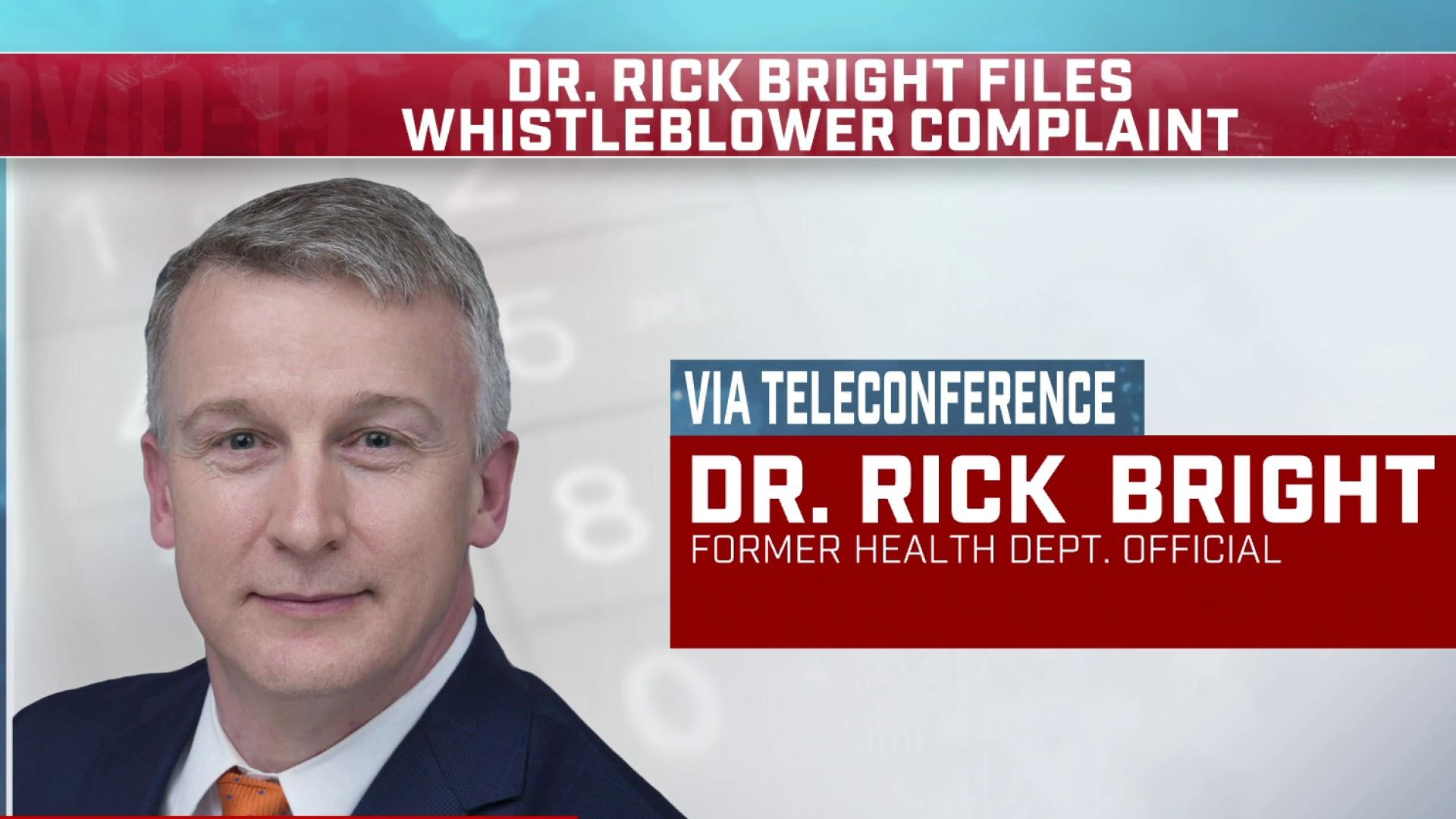 Dr. Bright: I was pressured to let politics, cronyism drive ...