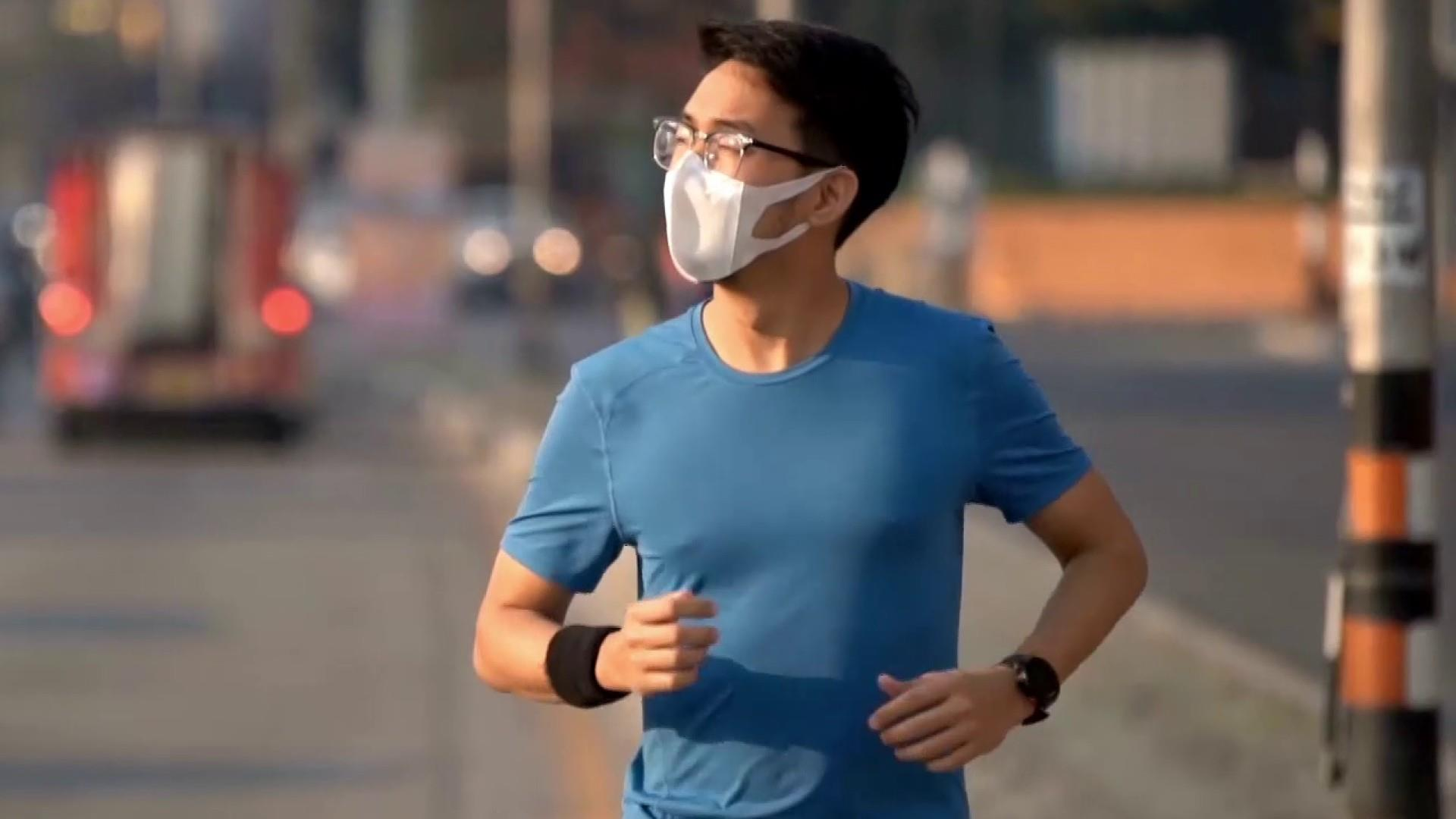 Should you wear a mask while exercising outside?