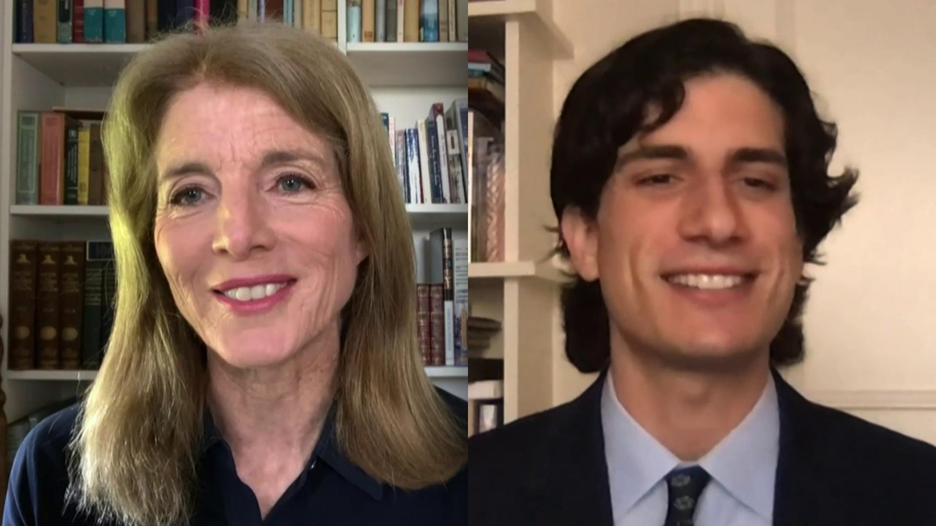 Caroline Kennedy And Son Jack Schlossberg Announce Profiles In