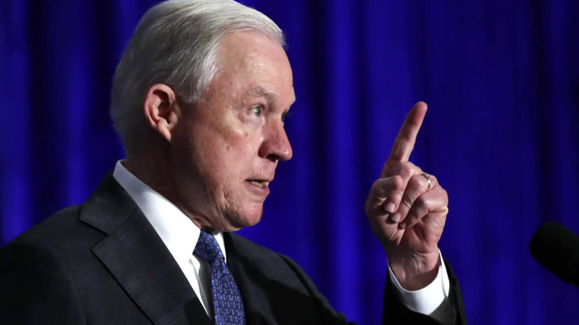 Trump claims Jeff Sessions not 'mentally qualified' to be AG as feud escalates