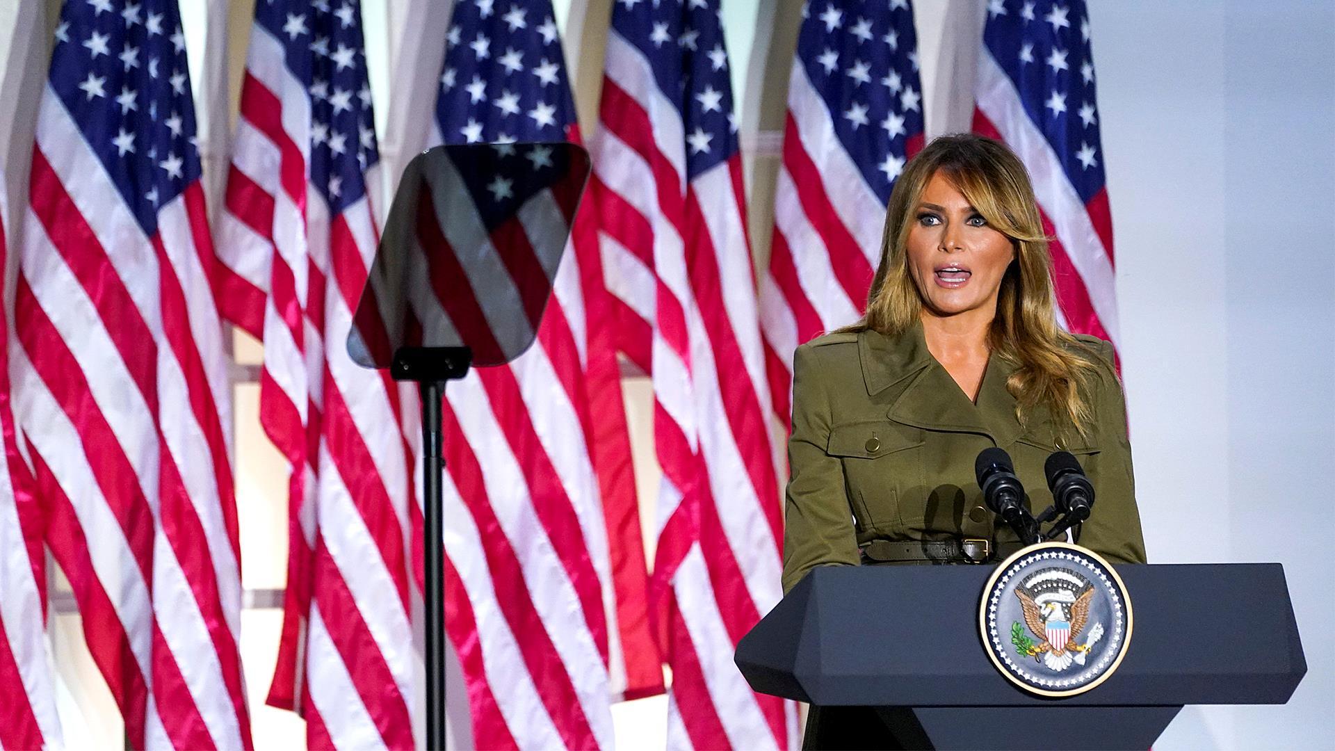 Watch Melania Trump S Full Speech At The 2020 Rnc