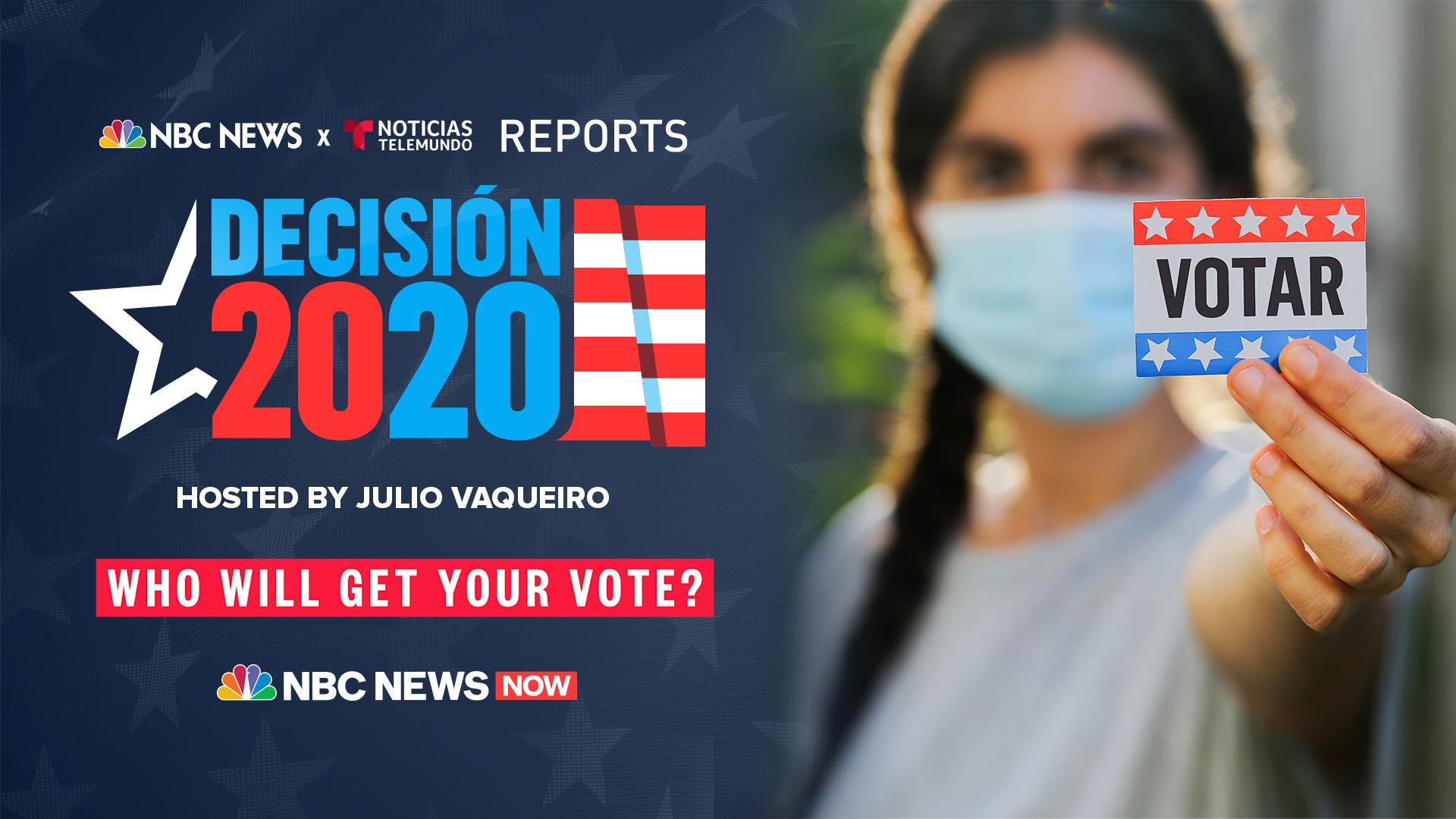Decision 2020 Latinos At The Center Of The Election