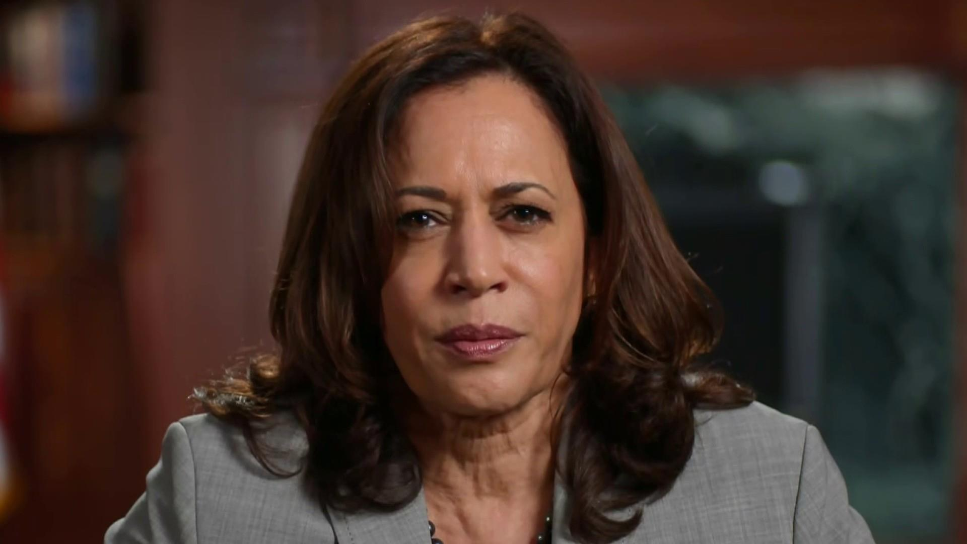 Sen Kamala Harris On Trump S Tax Avoidance It S Just Completely Patently Unfair