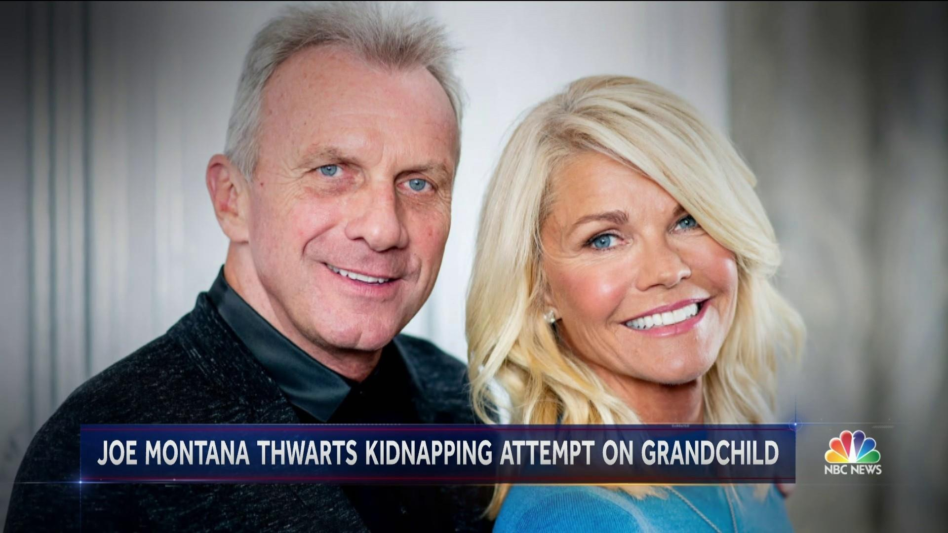 Joe Montana and wife rescue grandchild from attempted kidnapping