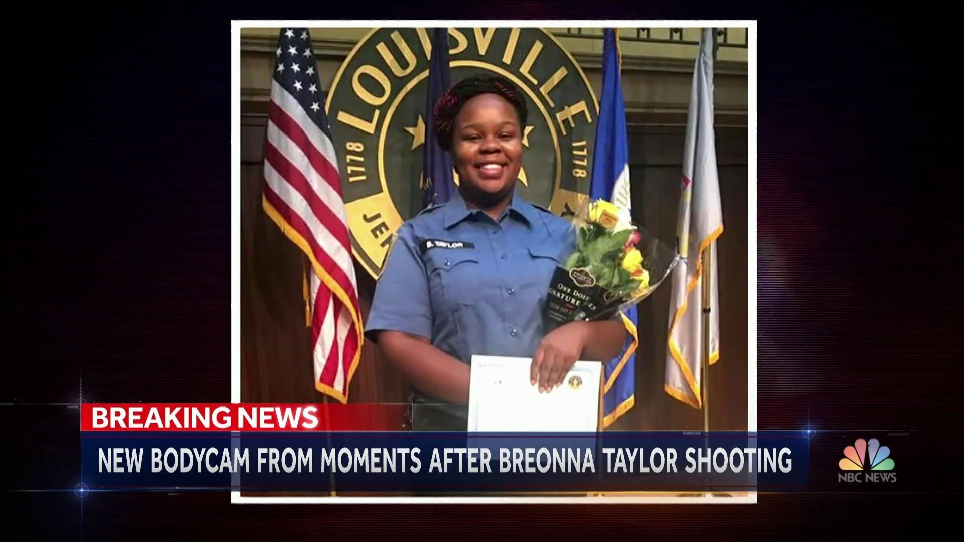 Body Camera Footage Reveals Aftermath Of Breonna Taylor S Death