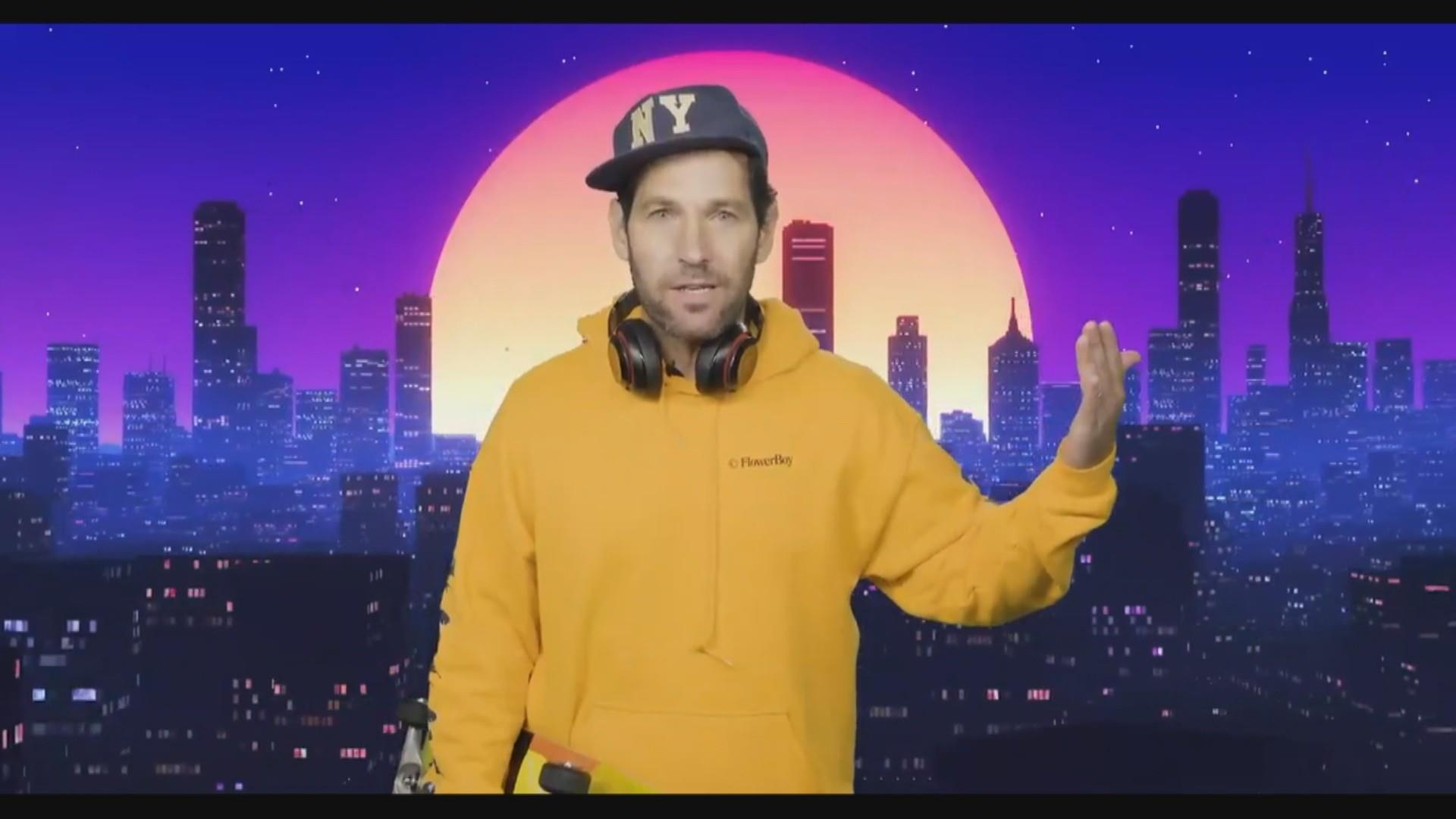 Certified Young Person Paul Rudd Tries To Convince Millennials To Wear Masks In Psa