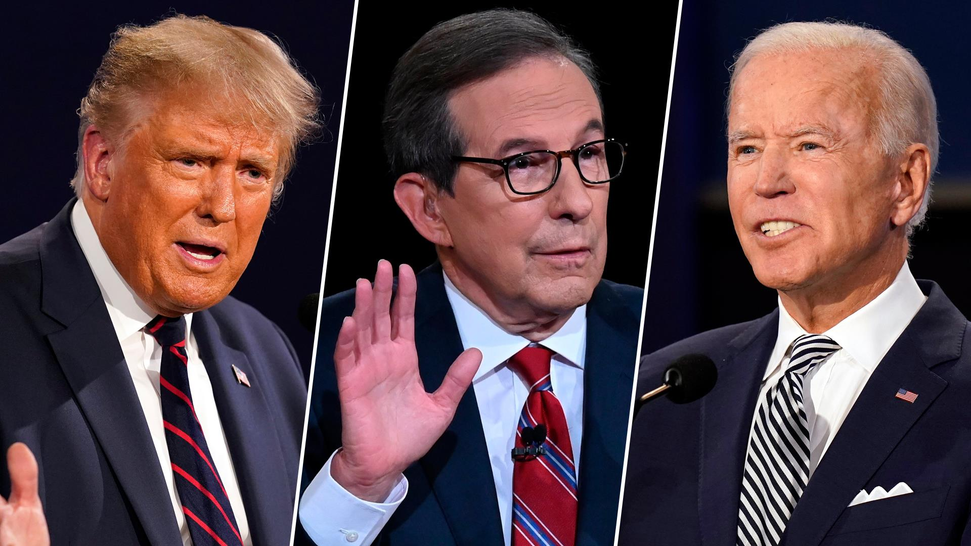 4 Debate Takeaways From Last Night S Trump Biden Face Off